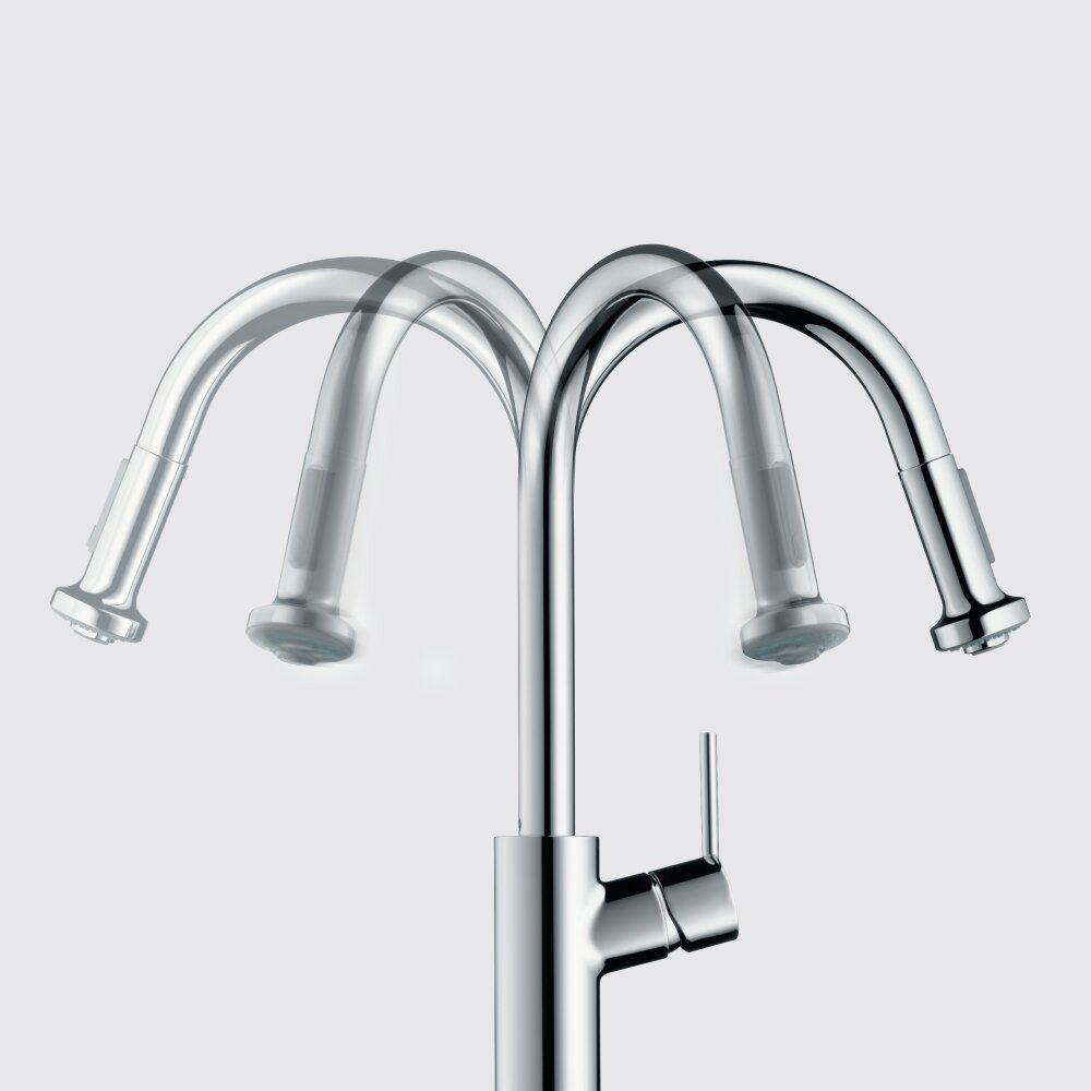 Hansgrohe Talis S One Handle Deck Mounted Kitchen Faucet