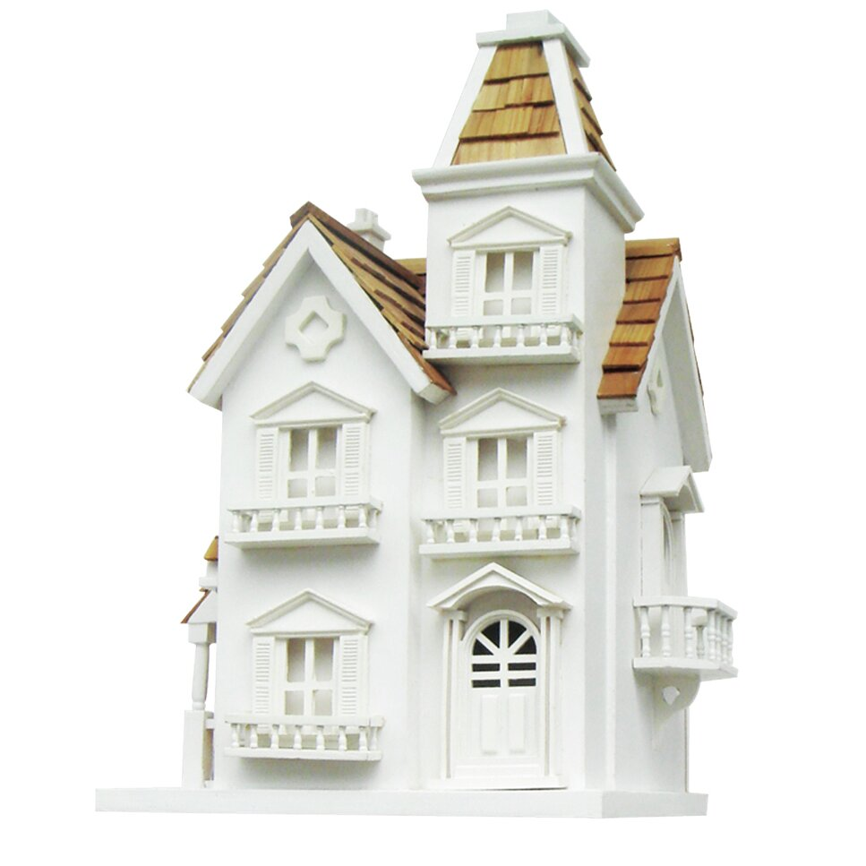 Home bazaar classic series victorian manor birdhouse for Classic homes reviews