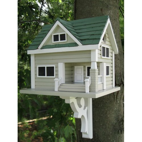 Home bazaar classic series bungalow birdhouse reviews for Classic homes reviews