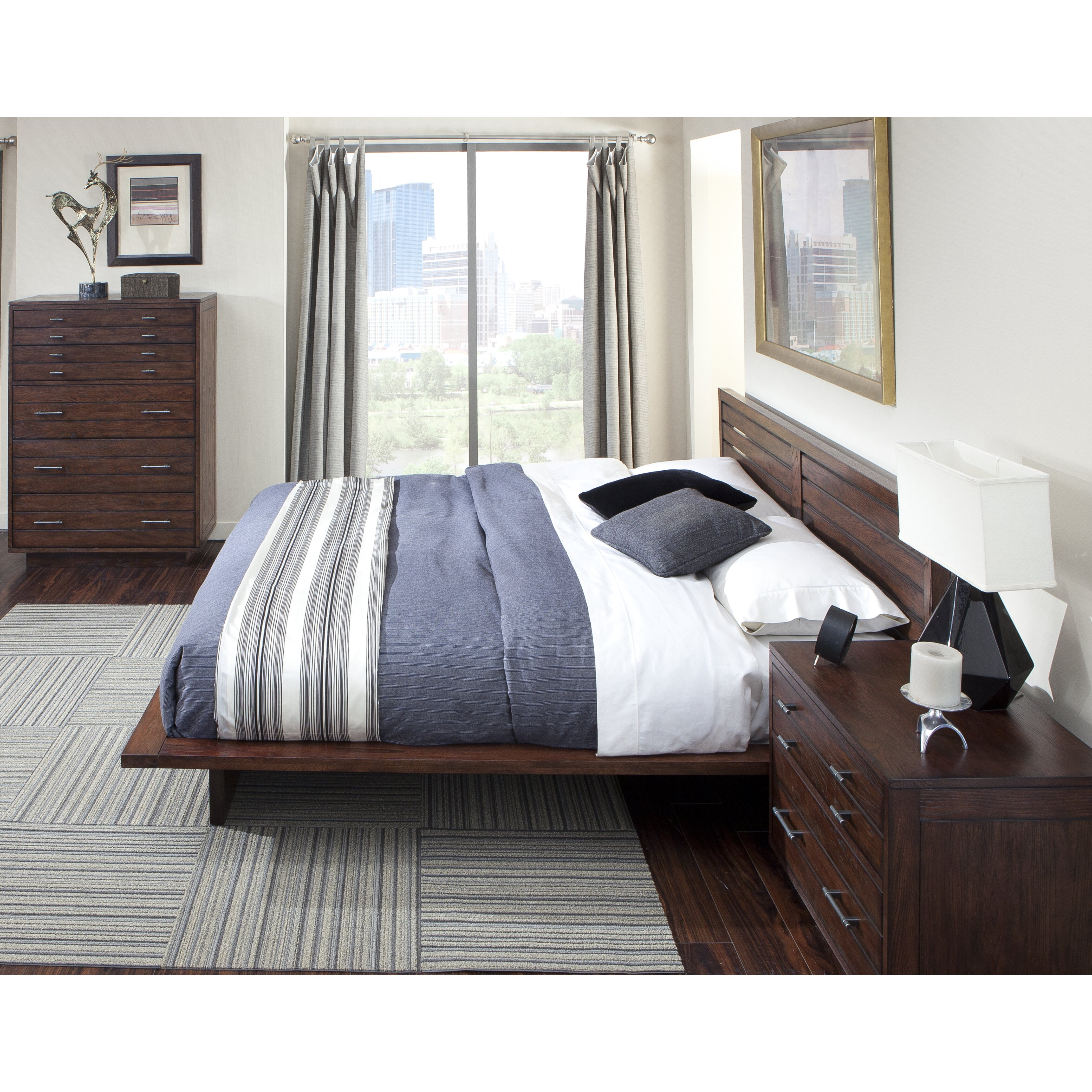 Cresent Furniture Hudson Platform Customizable Bedroom Set Reviews Wayfair