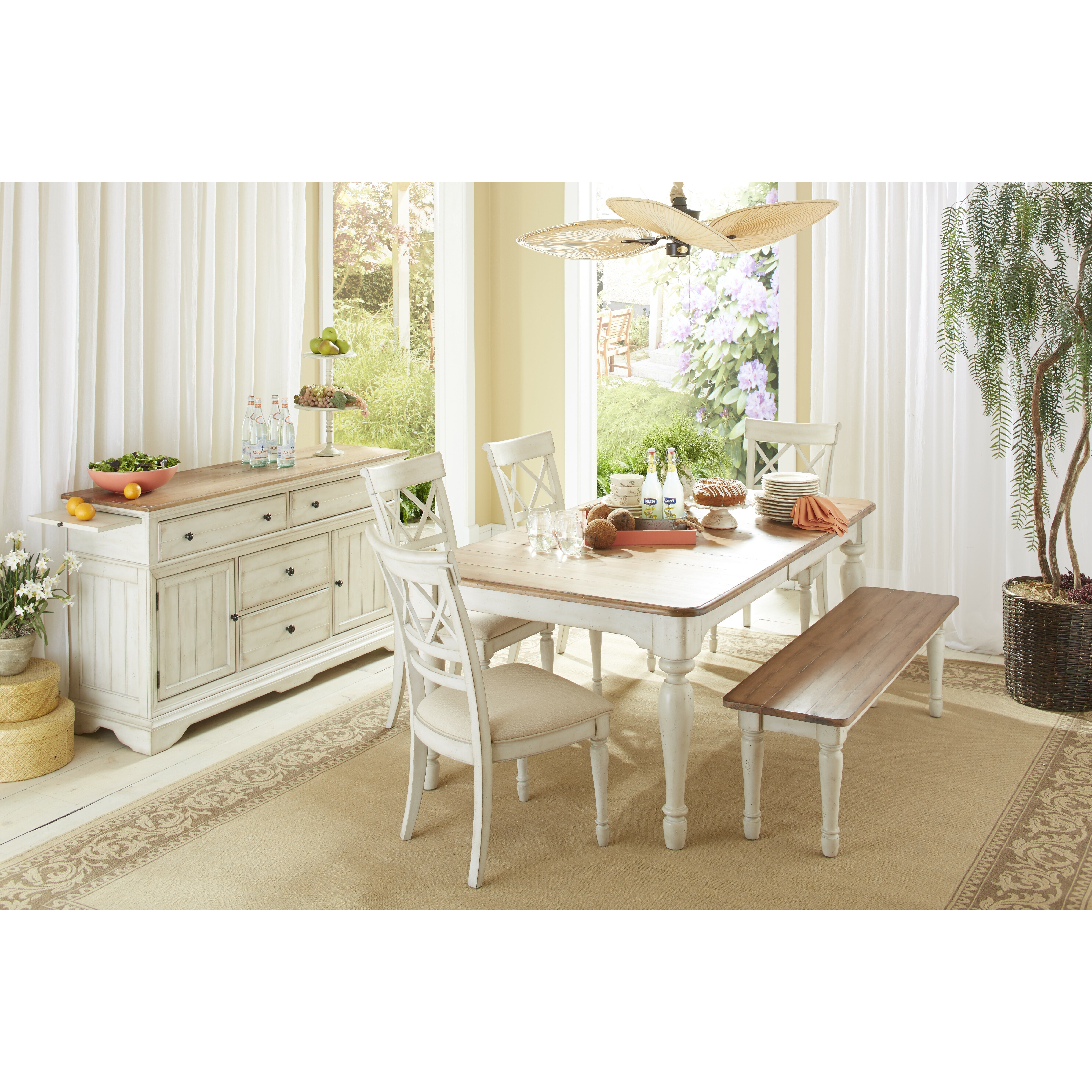 Cottage Dining Room Sets: Cresent Furniture Cottage 6 Piece Dining Set & Reviews
