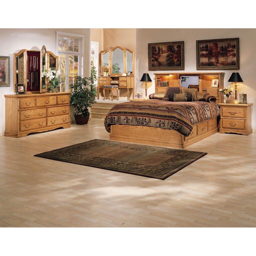 Country Bedroom Sets: Bebe Furniture Country Heirloom Platform Bed & Reviews