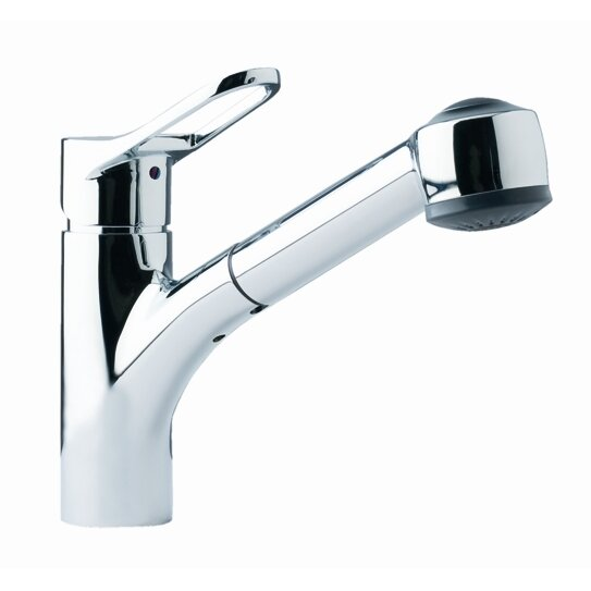 franke single handle single hole kitchen faucet with pull single hole kitchen faucet with pull out spray head uvjfc25576