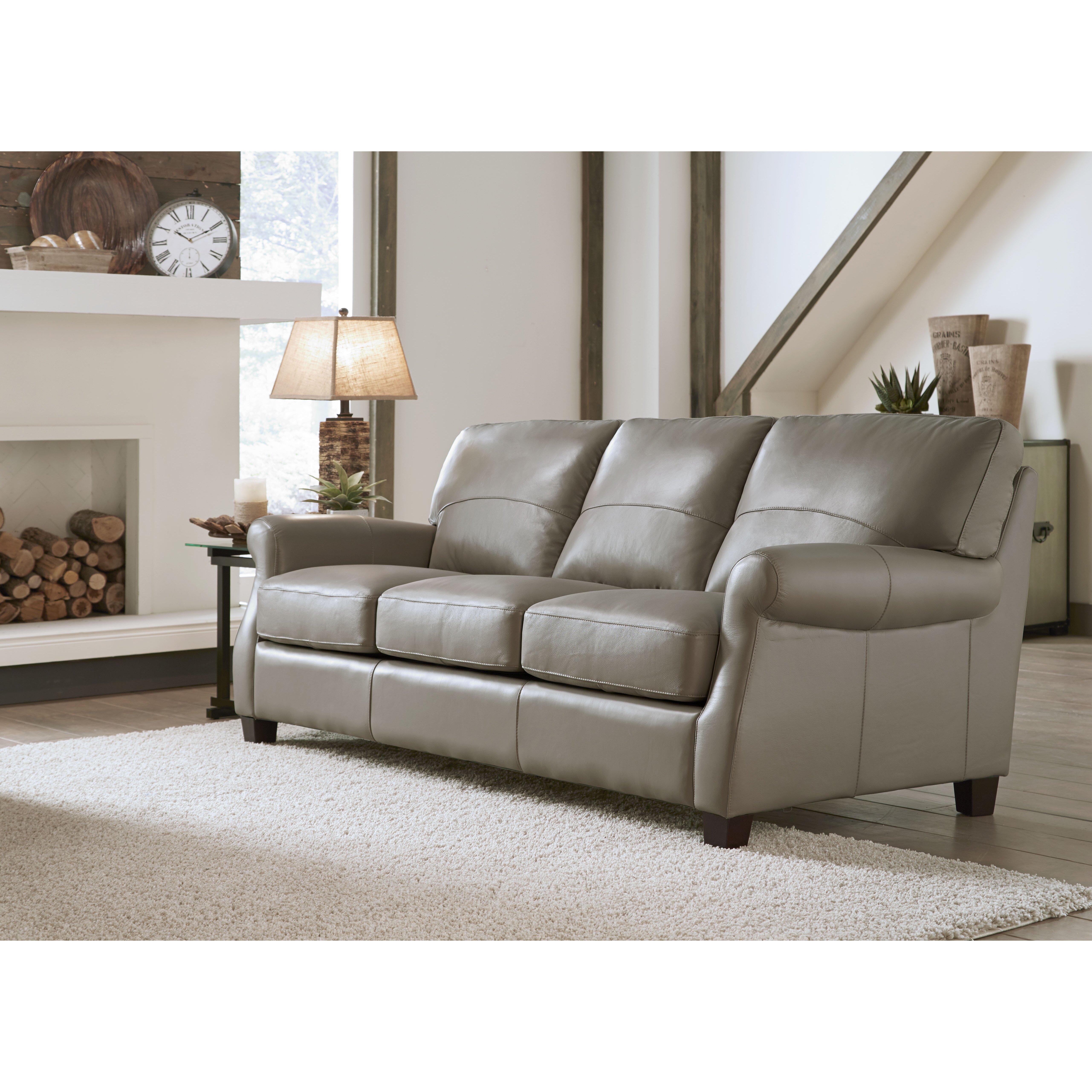 Lazzaro Leather Carlisle Leather Sofa Reviews