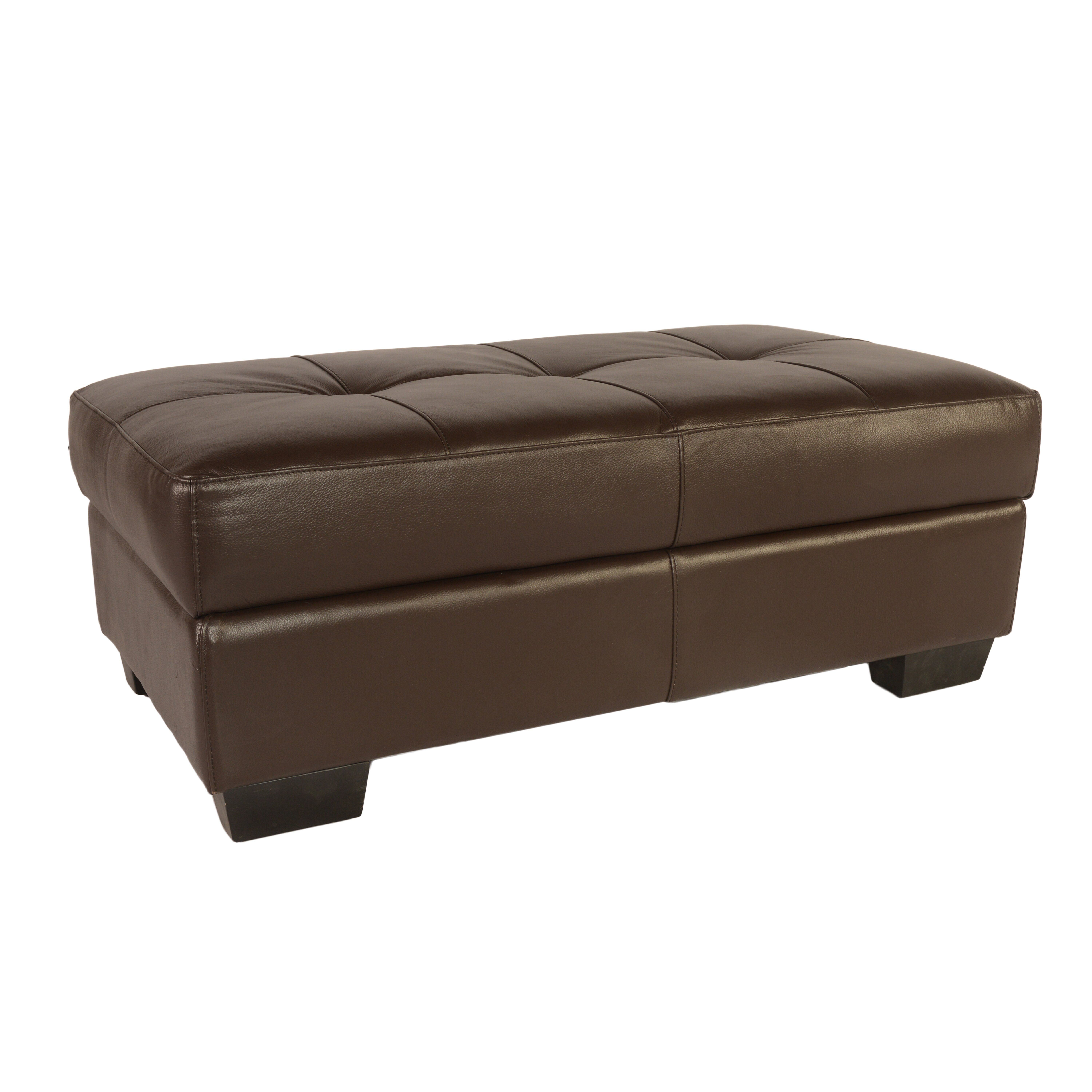 Lazzaro leather frandis leather storage ottoman reviews for What is an ottoman for