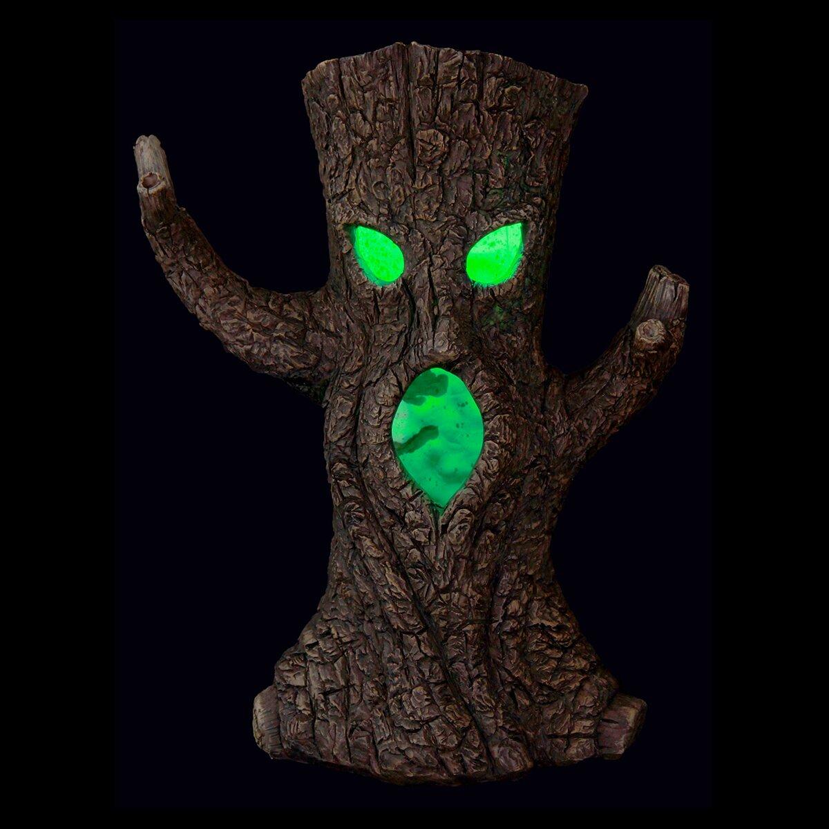 Exhart Solar Color Changing Halloween Tree Amp Reviews Wayfair