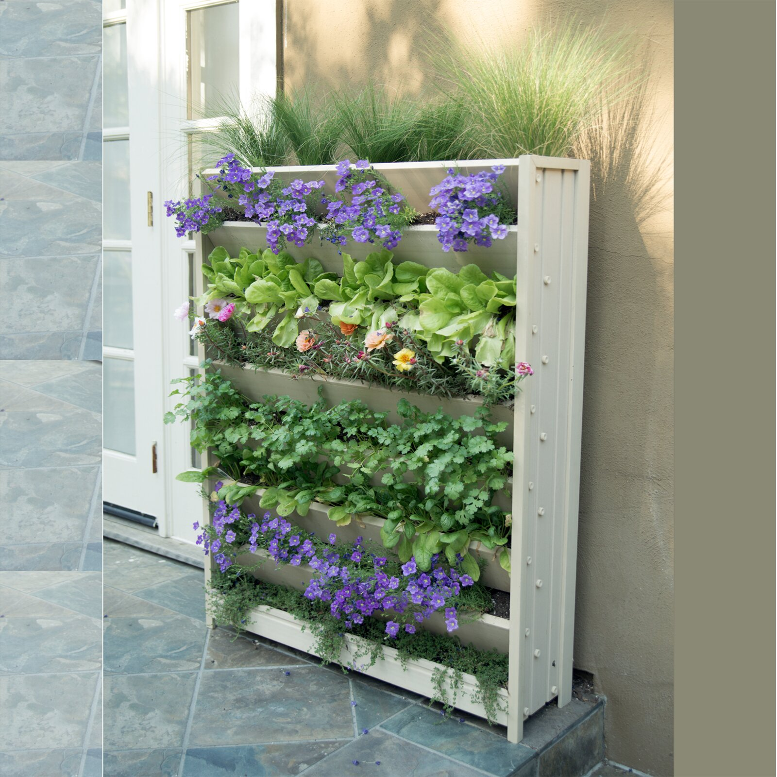 New age garden ecoflex wall mounted planter reviews wayfair - Wall mounted planters outdoor ...