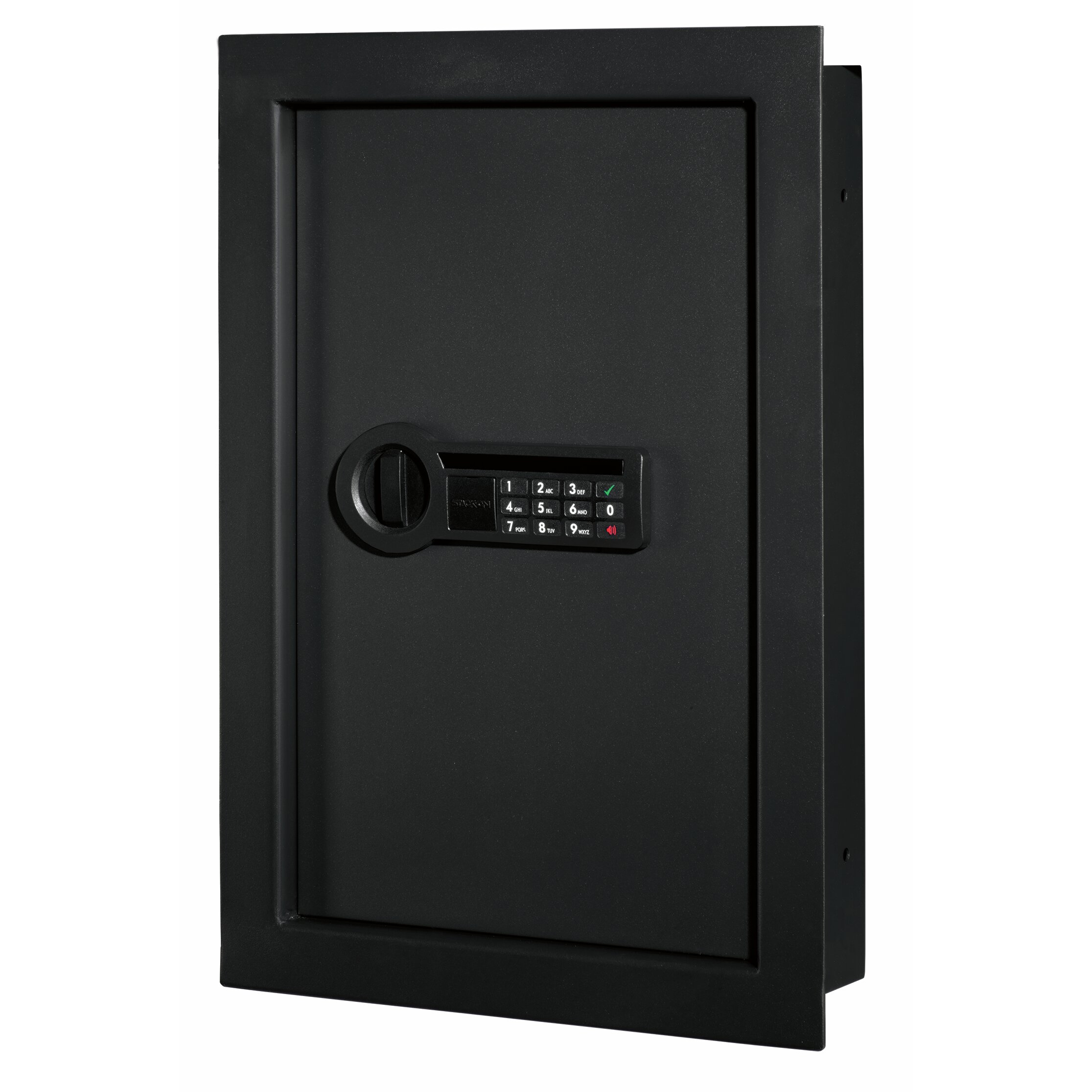 office max safe stack on electronic lock wall safe wayfair 23944