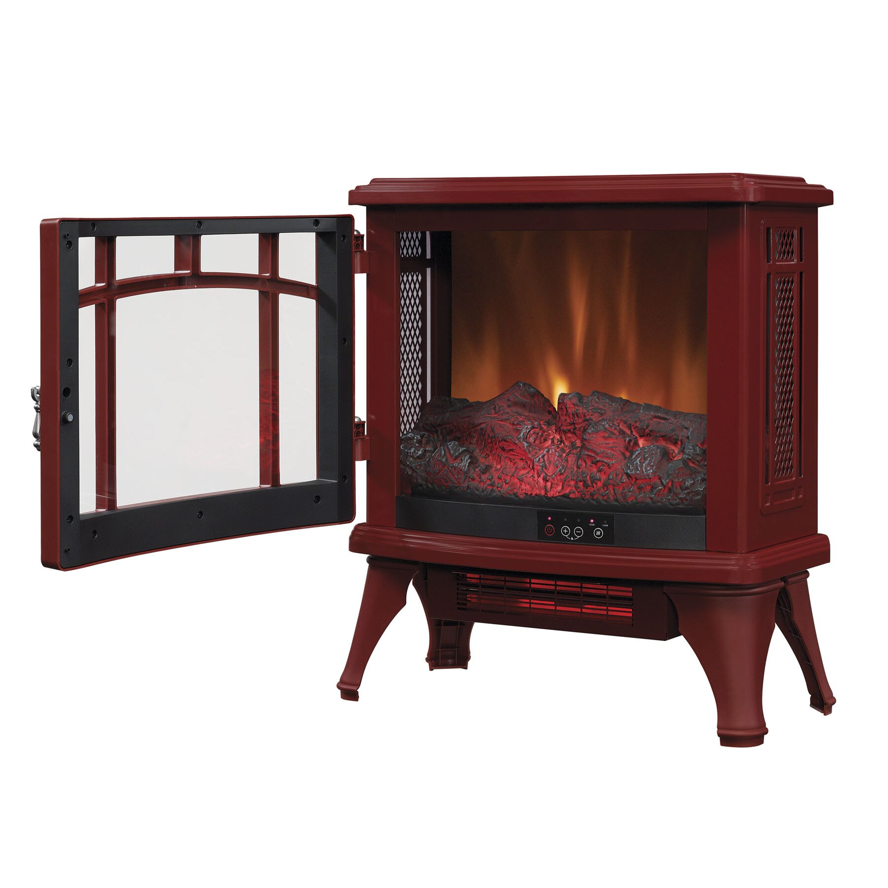 Duraflame Infrared Quartz Fireplace 1 000 Square Foot Electric Stove Reviews Wayfair