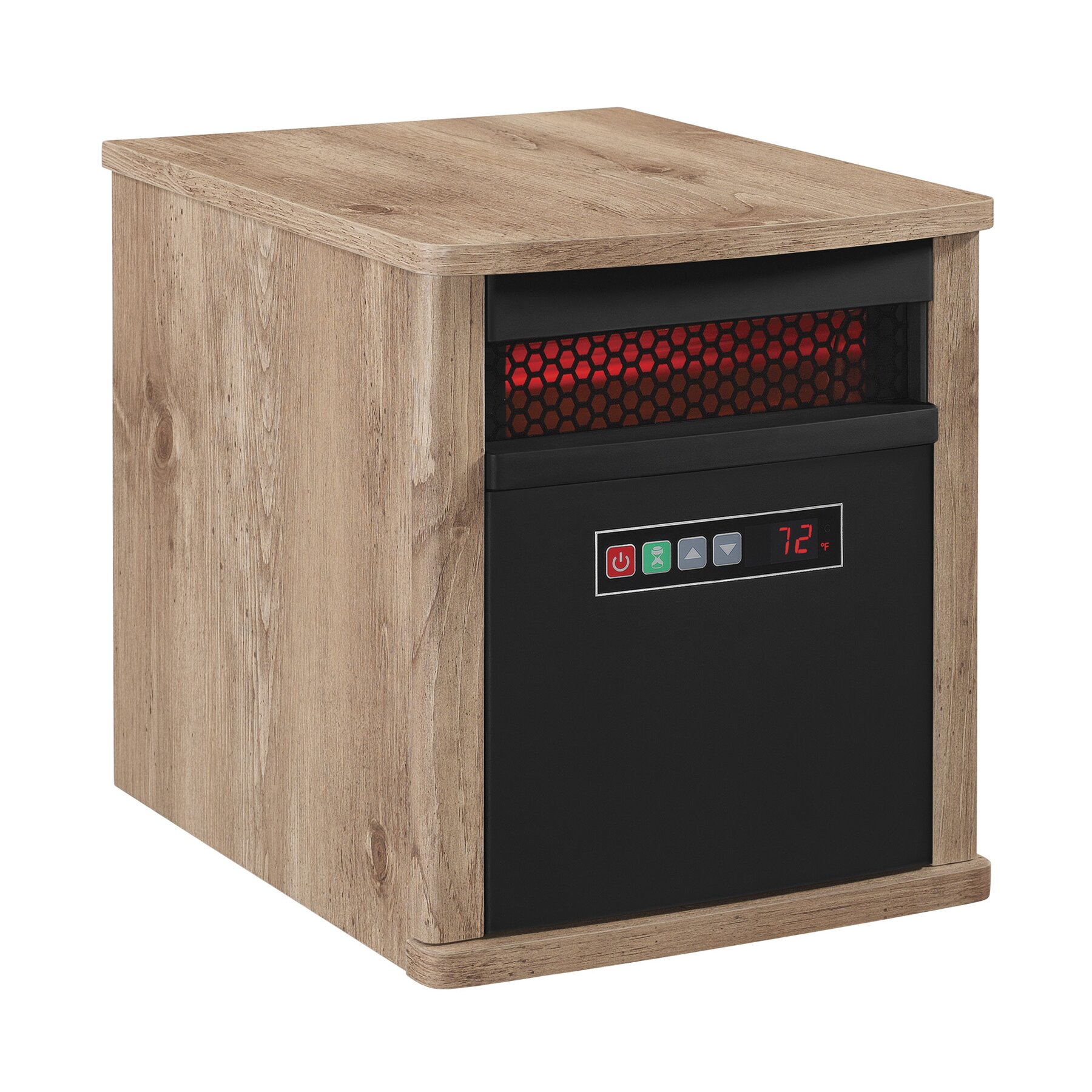 Infra Red Heating : Duraflame btu portable electric infrared cabinet