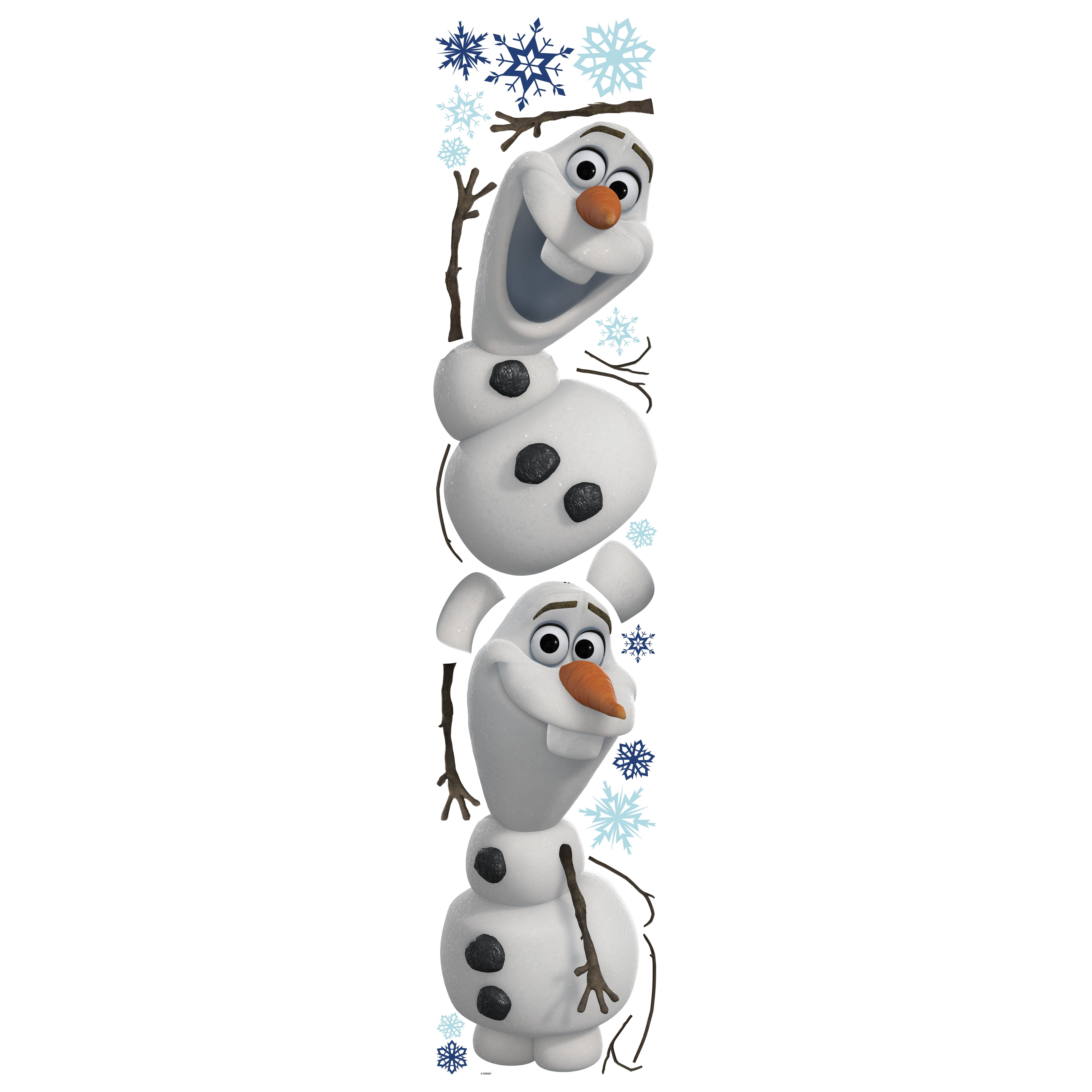 Room Mates Popular Characters Frozen Olaf The Snowman Wall