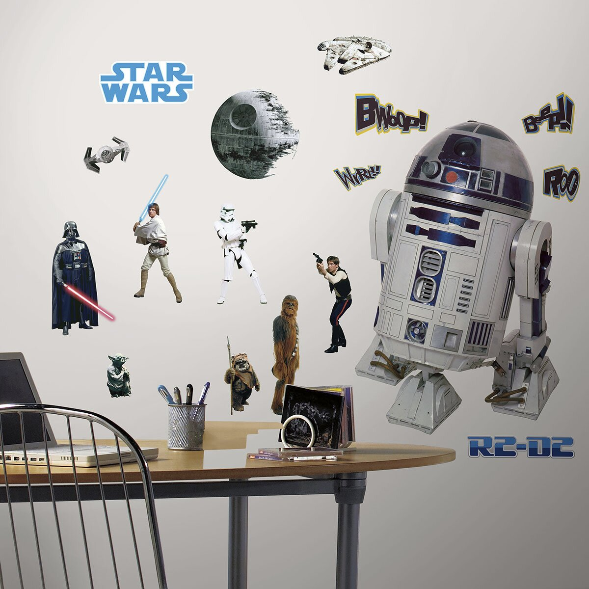 Room Mates Star Wars Classic Wall Decal Reviews Wayfair