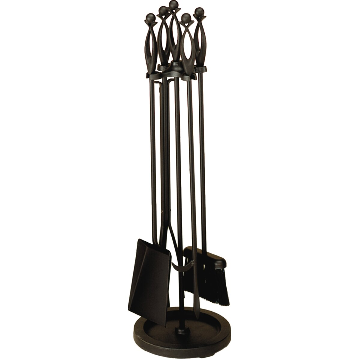 Minuteman 4 Piece Wrought Iron Fireplace Tool Set Reviews Wayfair