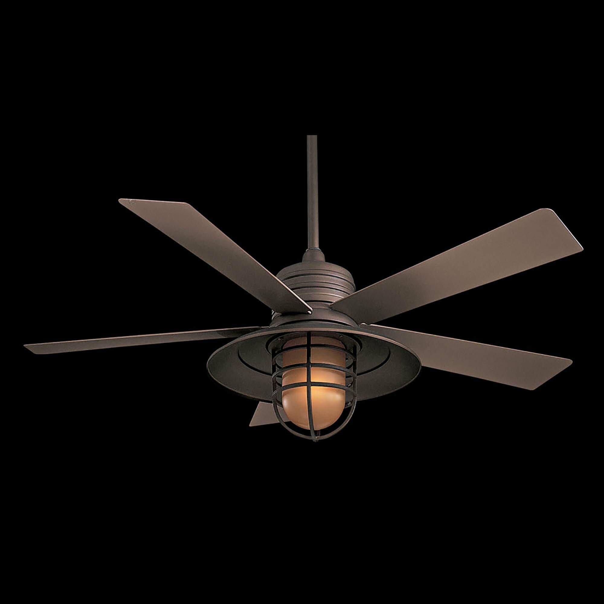 Minka Aire 54 Quot Rainman 5 Blade Indoor Outdoor Ceiling