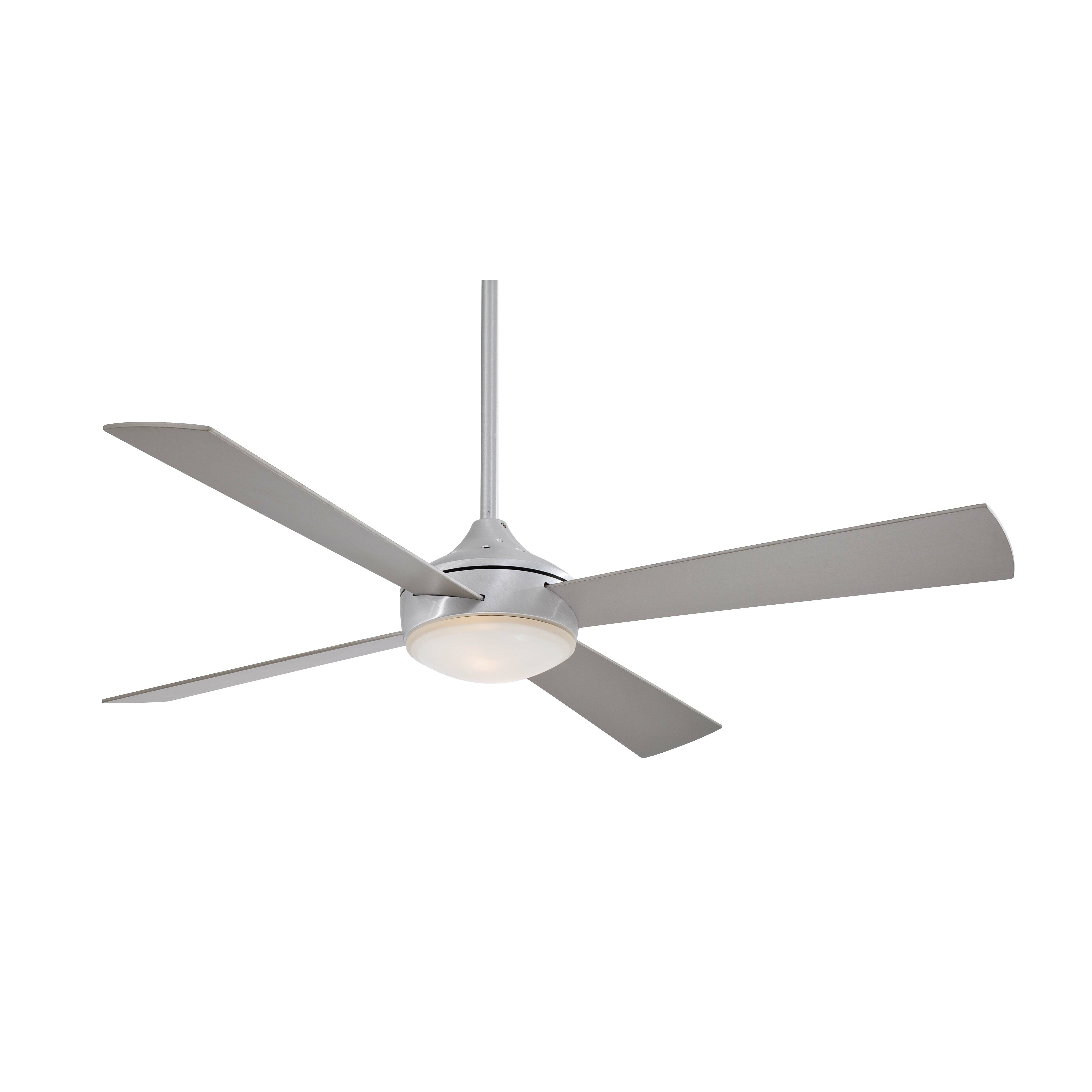 Four Blade Fan : Minka aire quot aluma blade ceiling fan reviews wayfair