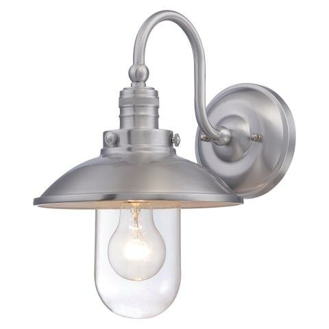 Minka Lavery Downtown Edison 1 Light Outdoor Barn Light Reviews Wayfair
