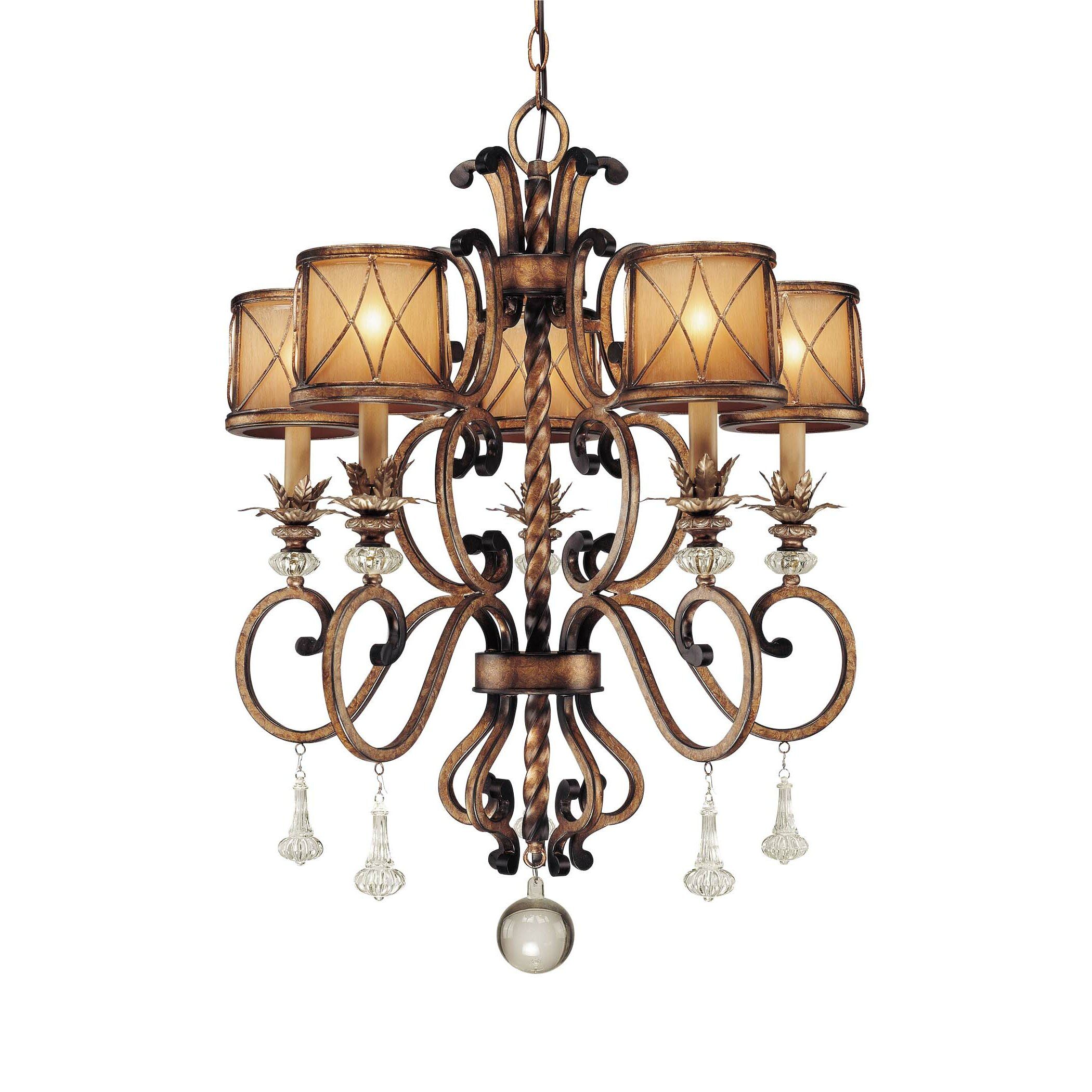 Wayfair Chandelier: Minka Lavery Aston Court 5 Light Chandelier & Reviews