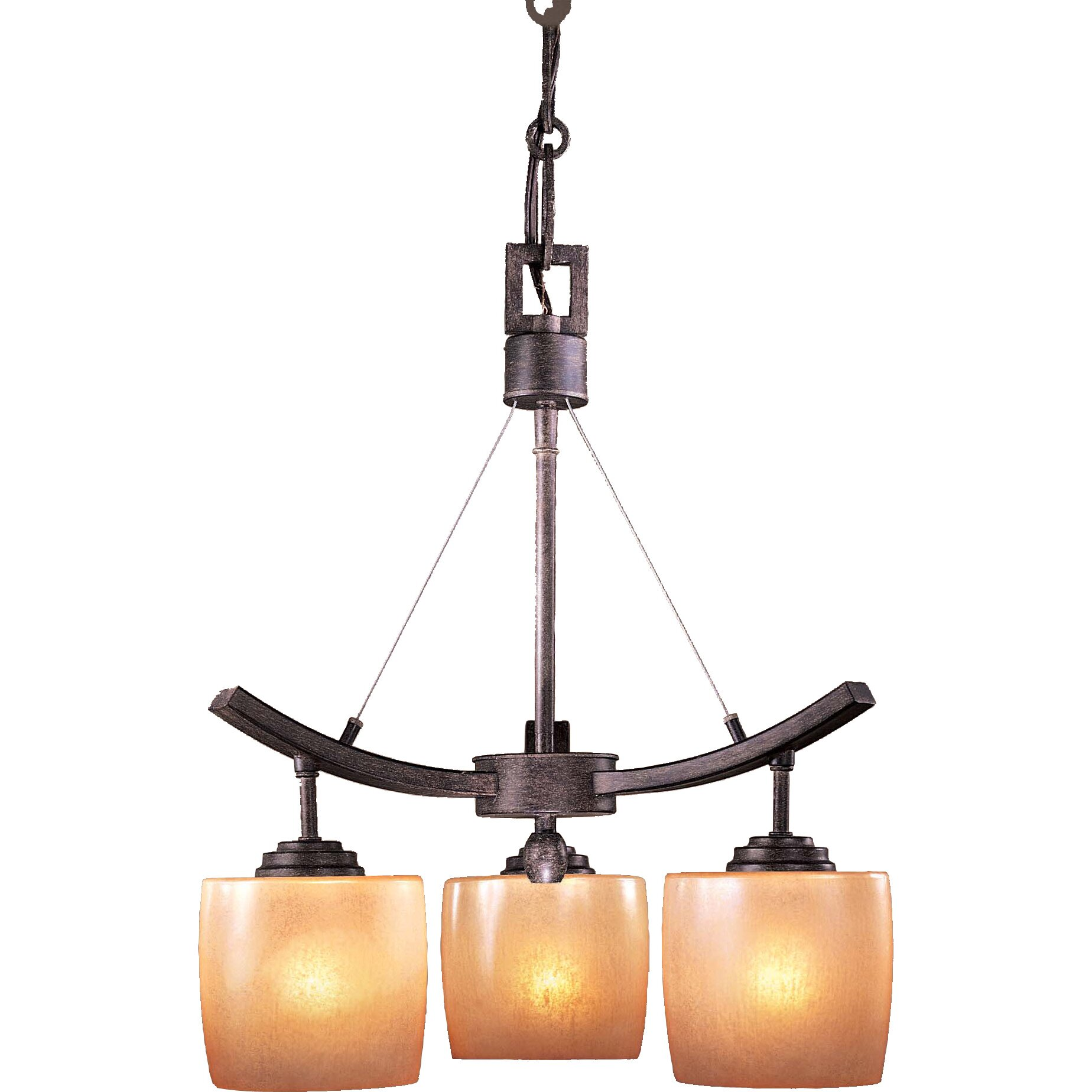 Minka Lavery Raiden 3 Light Mini Chandelier Reviews Wayfair