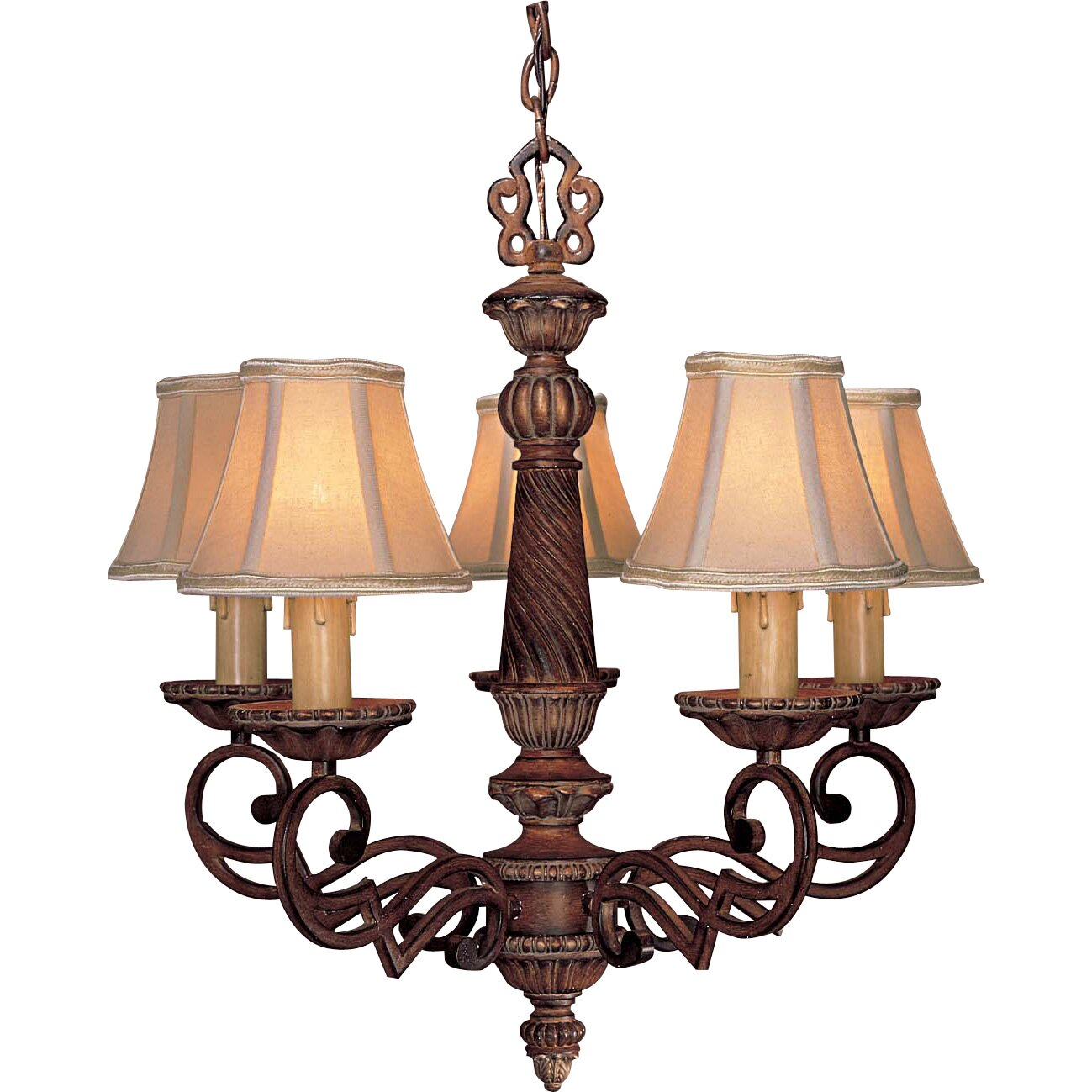 Minka Lavery Belcaro 5 Light Chandelier Reviews Wayfair