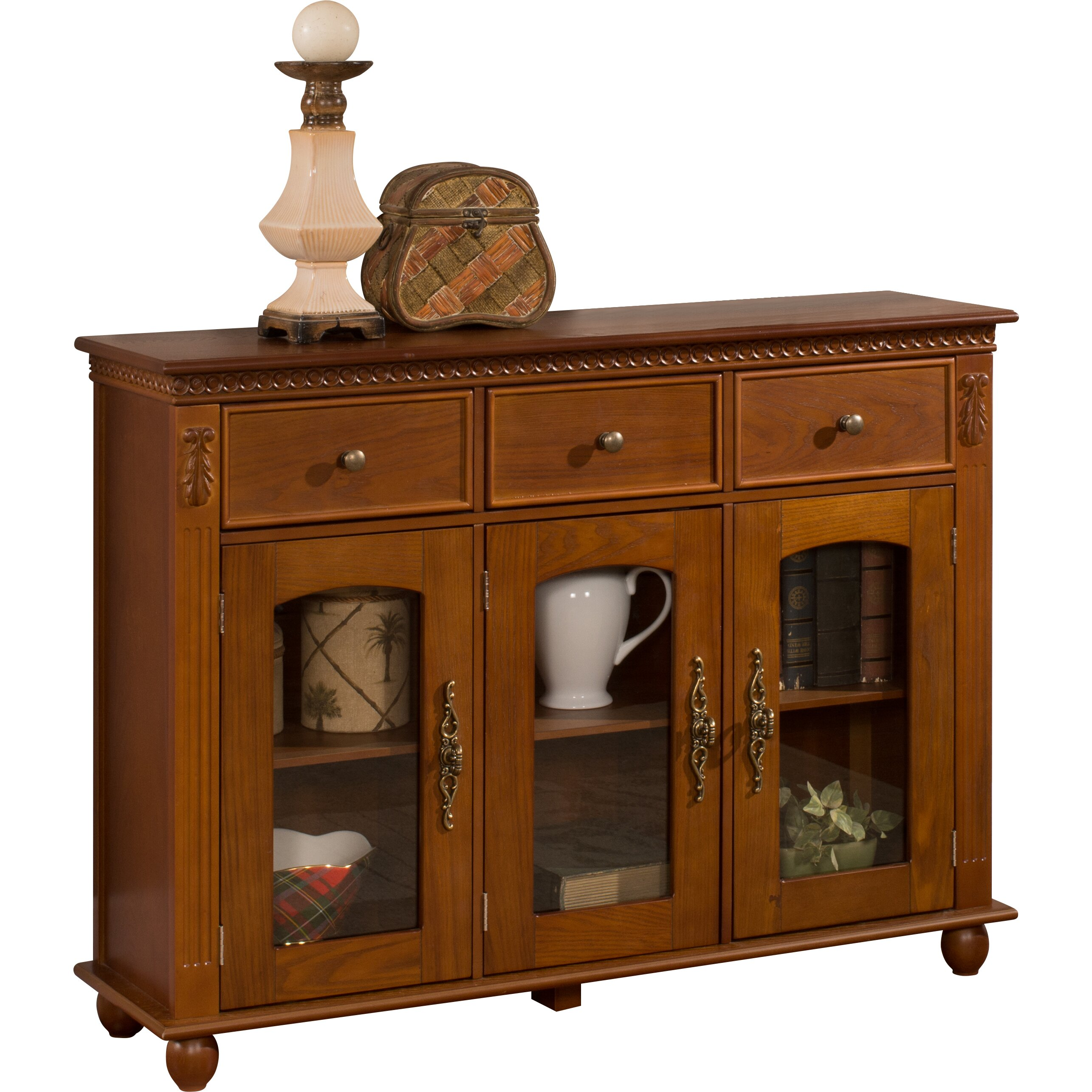 Inroom Designs Console Table Cabinet Reviews Wayfair: in room designs
