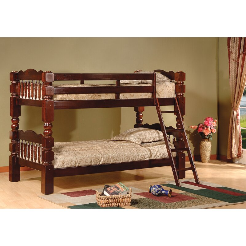 inroom designs twin bunk bed reviews wayfair