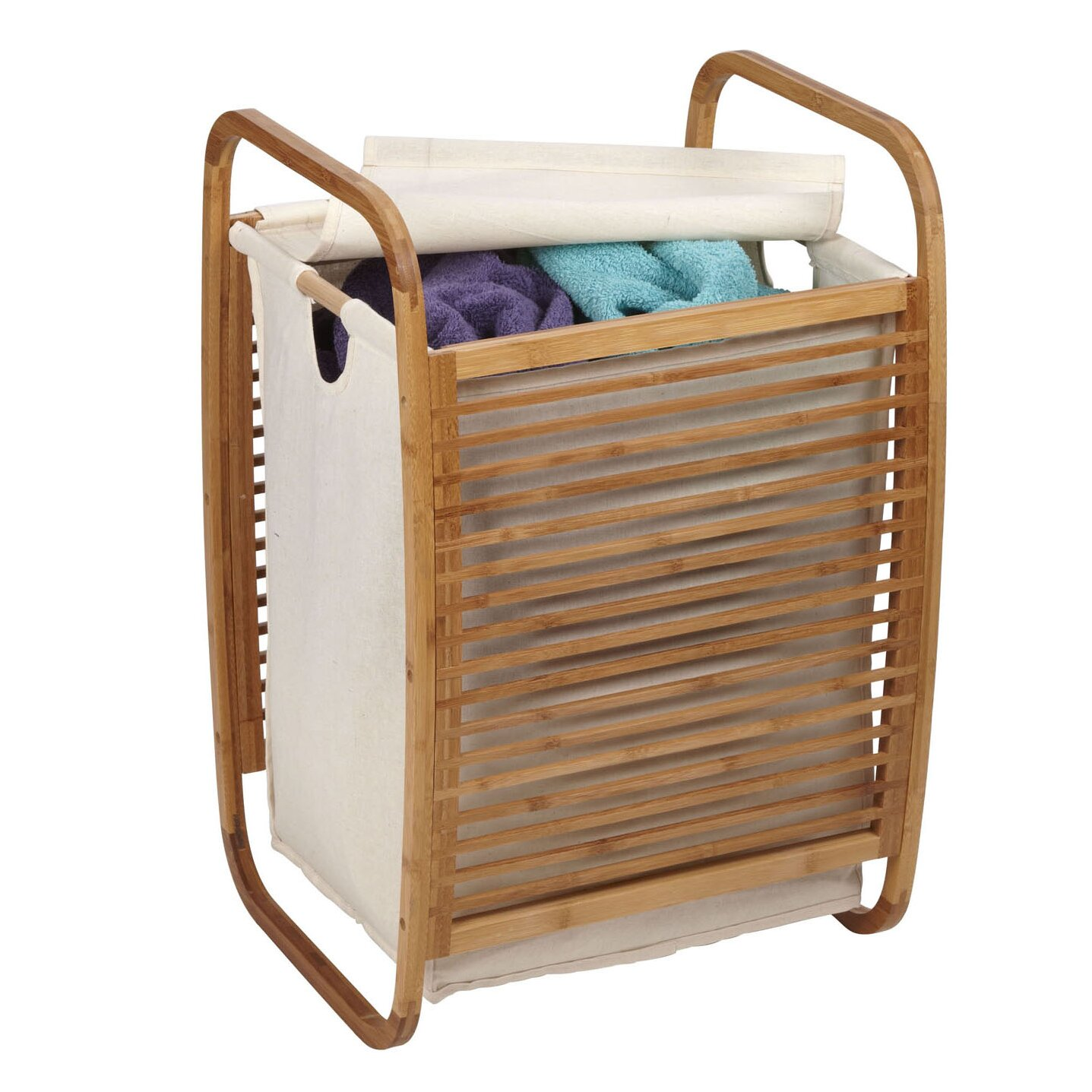 Household Essentials Compact Laundry Hamper Wayfair