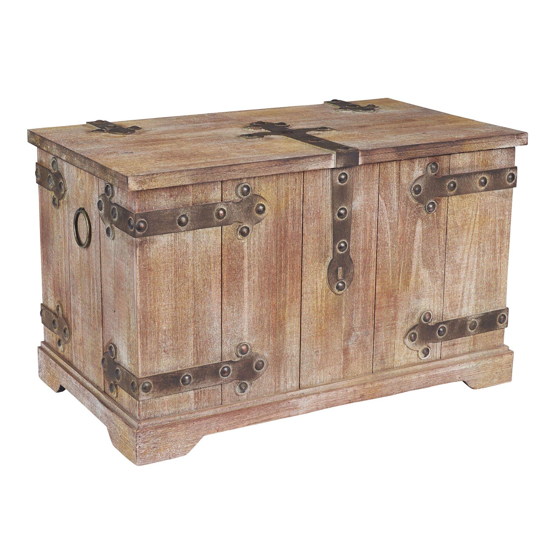 Household essentials large victorian storage trunk - Footlockers storage ...