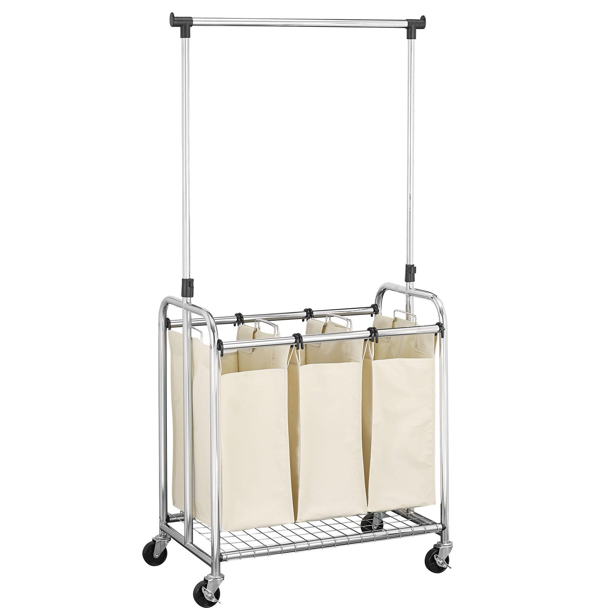 Household Essentials 3 Bag Laundry Sorter Wayfair