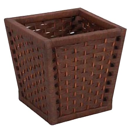 Household essentials wicker waste basket reviews wayfair - Wicker trash basket ...