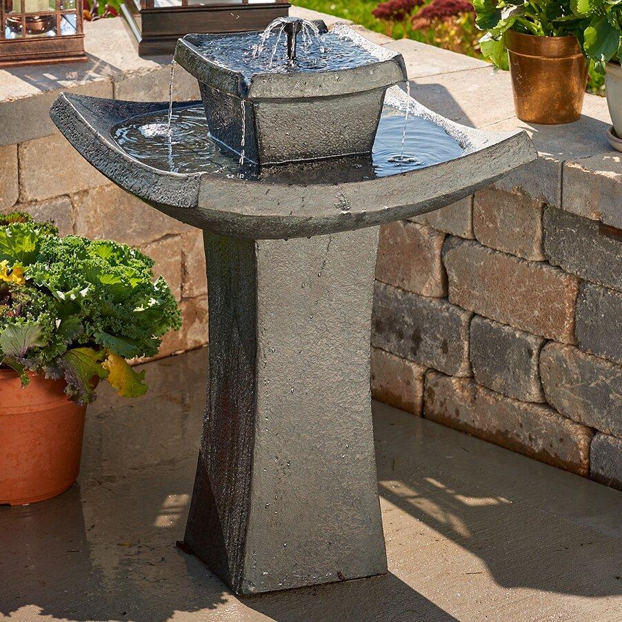 Smart Solar Mahayana Two-Tier Solar-on-Demand Fountain ...