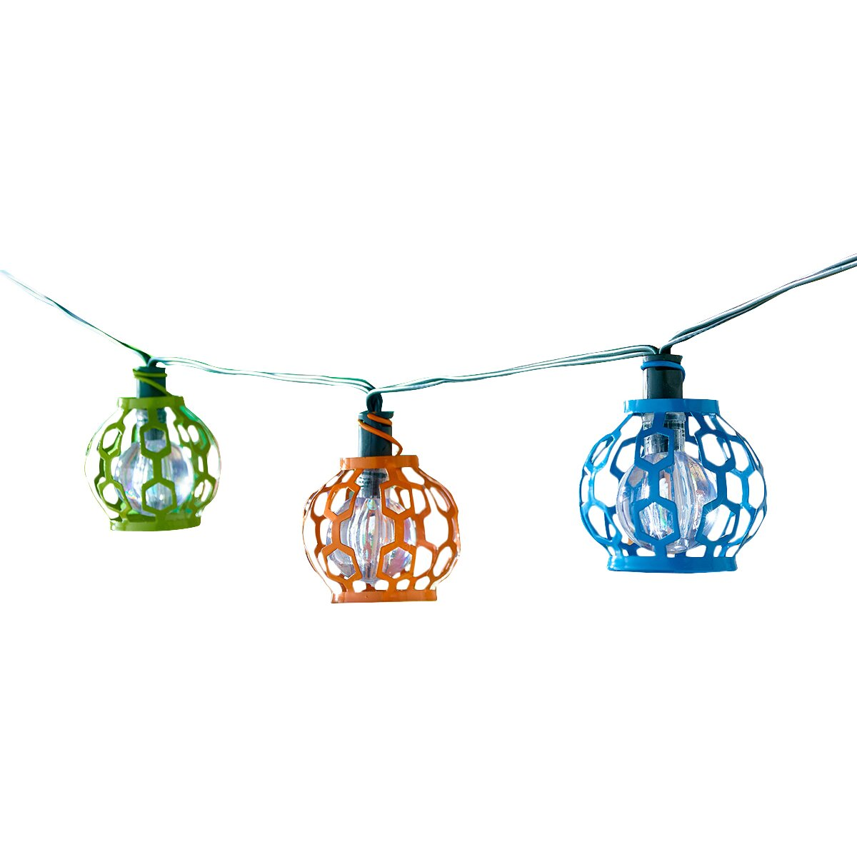 Smart Solar Solar 20-Light 5.5 Ft. Globe String Lights