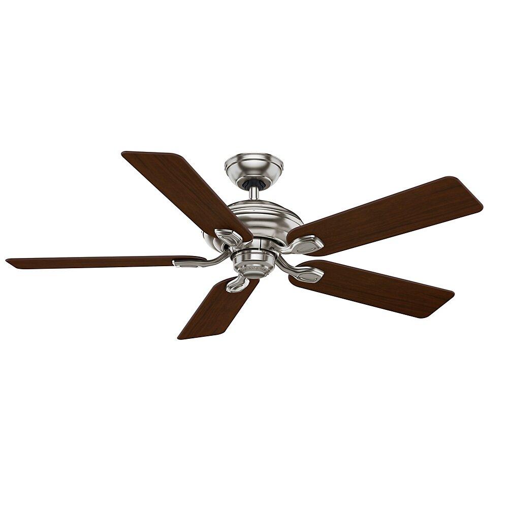 utopian gallery 5 blade ceiling fan with remote by casablanca fan. Black Bedroom Furniture Sets. Home Design Ideas