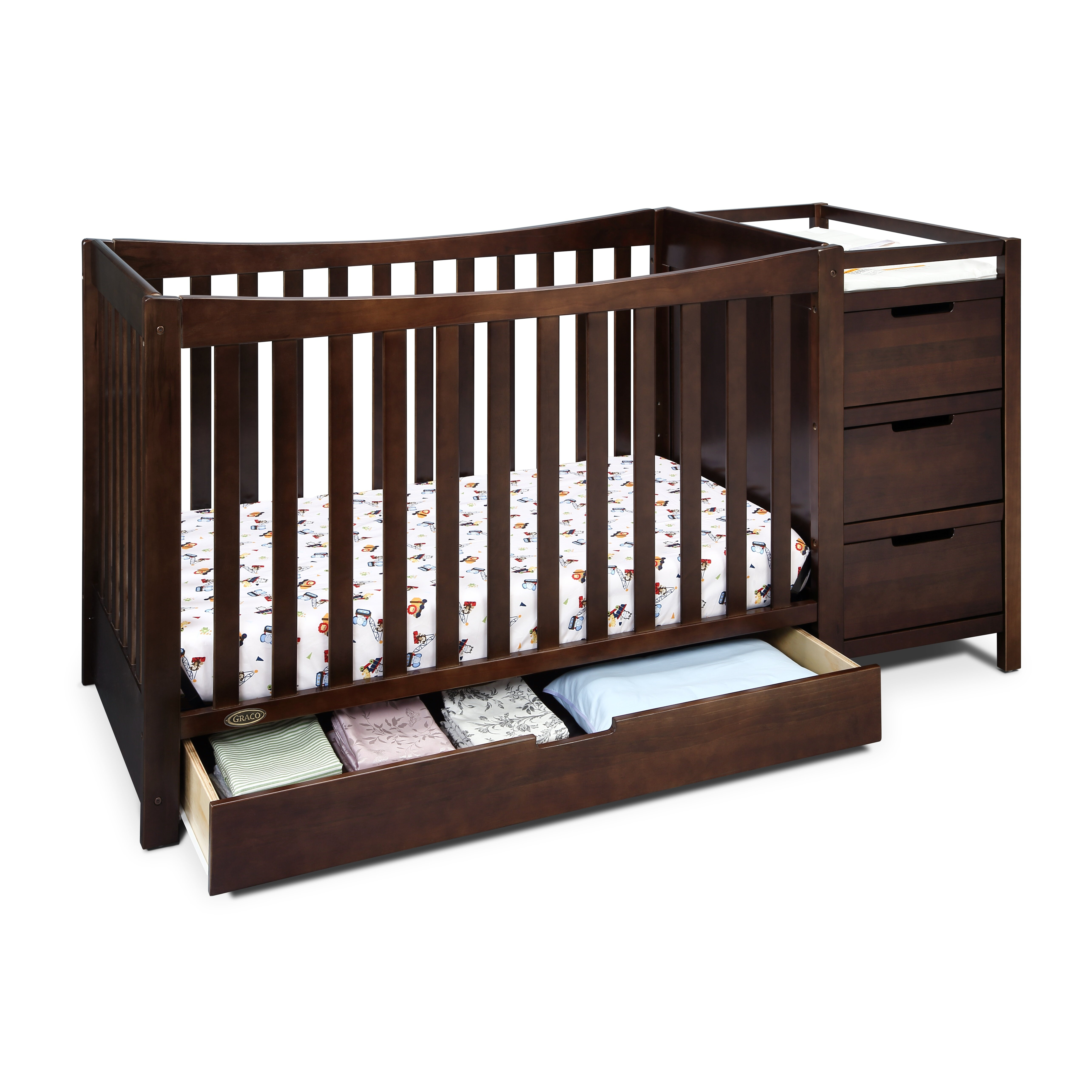 Graco Remi 4 In 1 Convertible Crib And Changer Amp Reviews