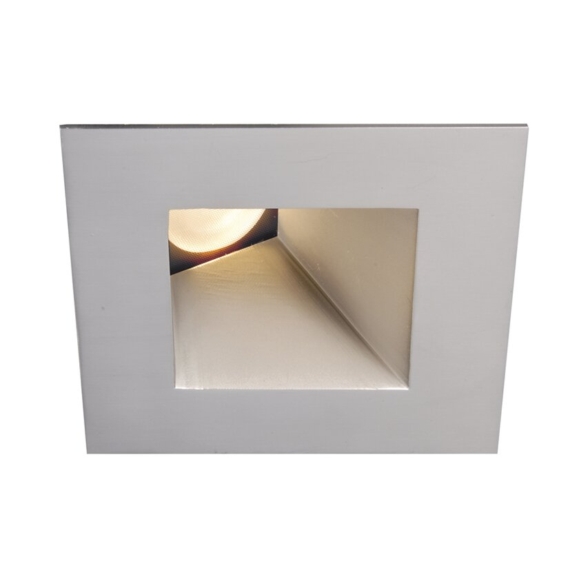 WAC Lighting LED Downlight Wall Washer Square 3 Recessed Trim Rev