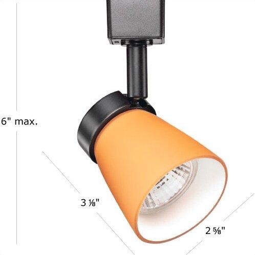 WAC Lighting Halo Miniature Luminaire Line 1 Light Voltage Track Head R