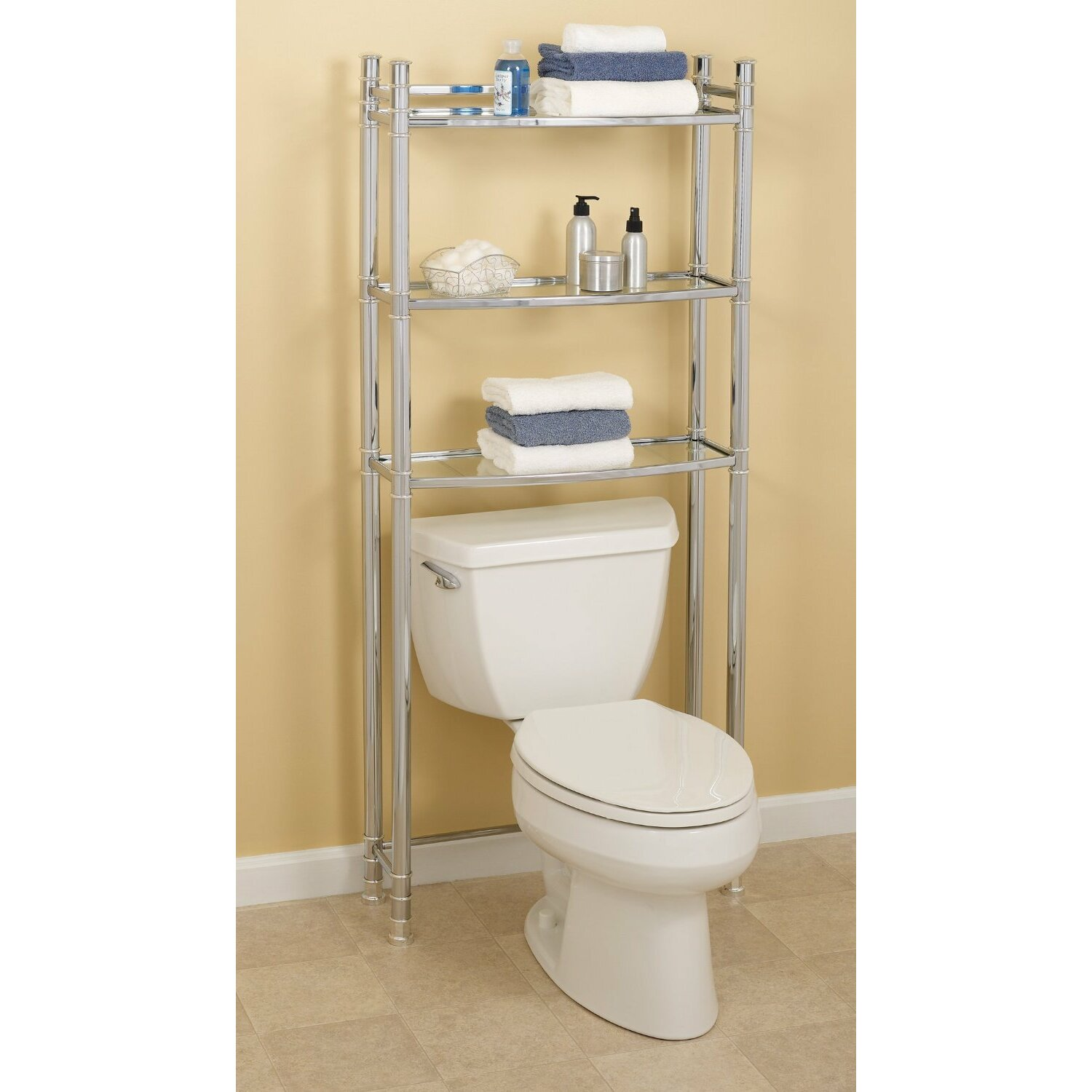 Zenith 25 5 X Free Standing Over The Toilet Reviews Wayfair