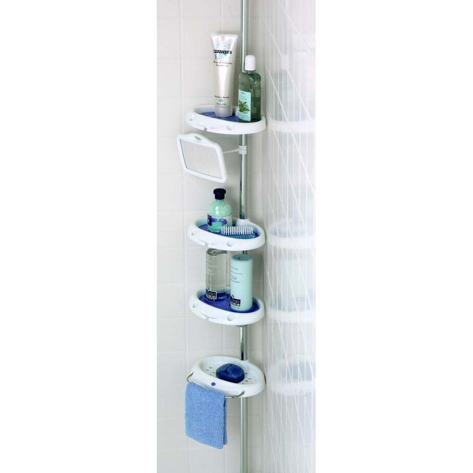 zenith corner shower caddy reviews On bathroom caddy