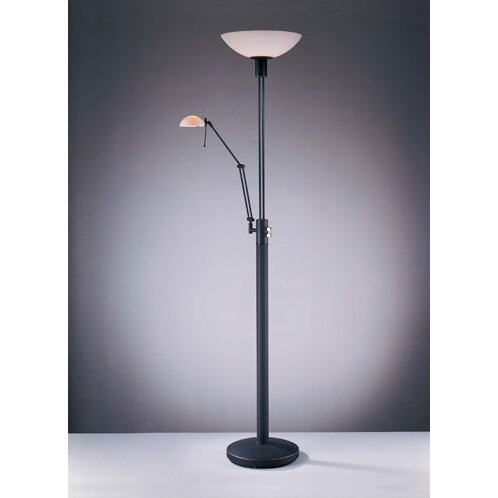 George kovacs george 39 s reading room 71 torchiere floor lamp reviews - Floor lamps for reading contemporary ...