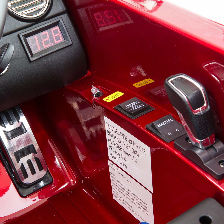 Soozier aosom mercedes benz 722s kids 12v battery powered for Car battery for mercedes benz