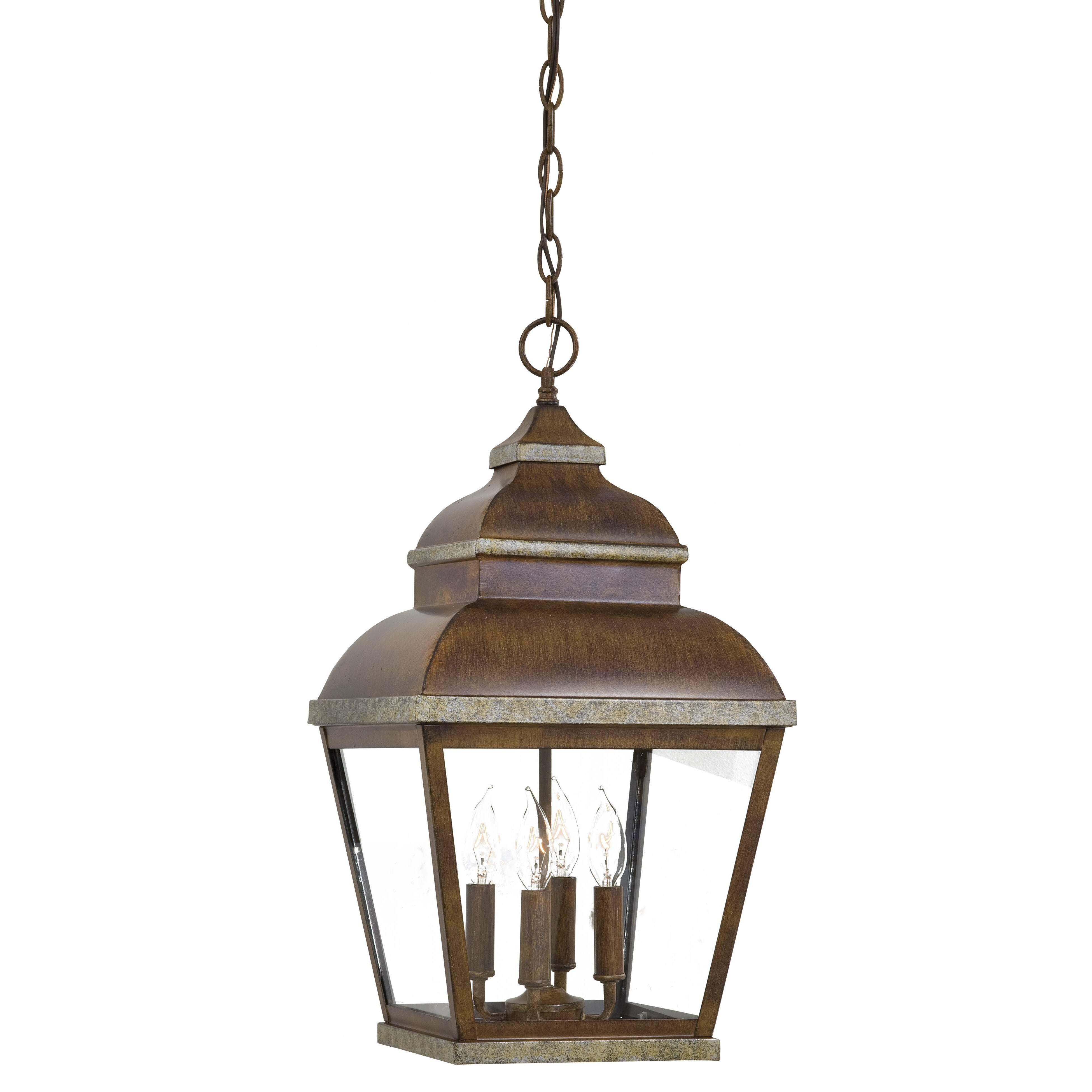 Wayfair Outdoor Hanging Lights: Great Outdoors By Minka Mossoro 4 Light Outdoor Hanging