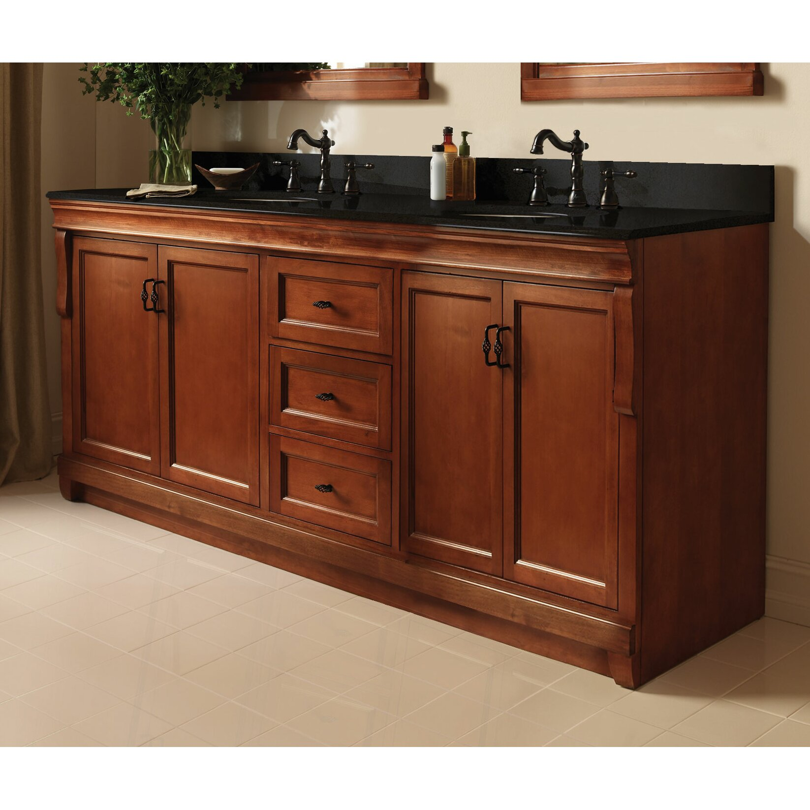 Foremost Naples 60 Double Bathroom Vanity Base amp Reviews