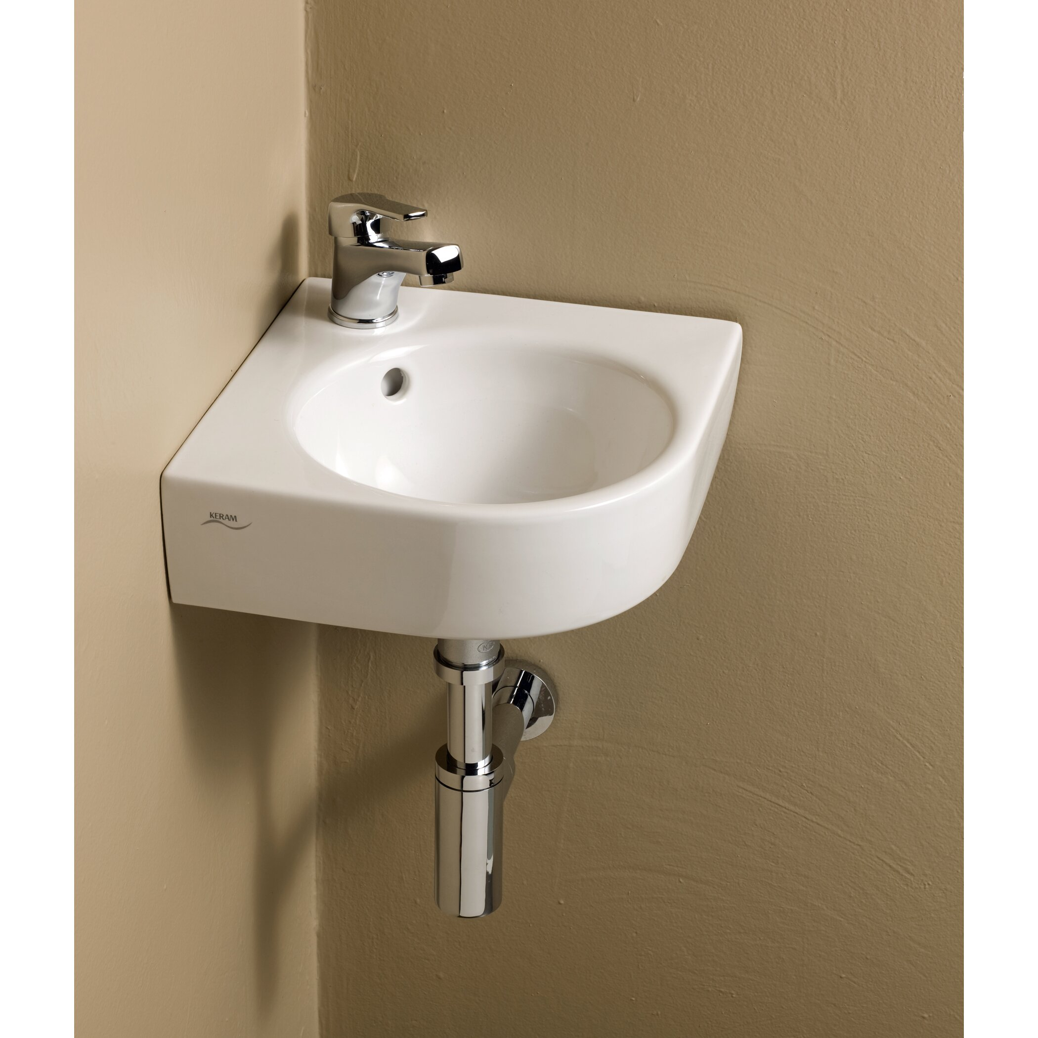 Bissonnet Elements primo Corner Bathroom Sink