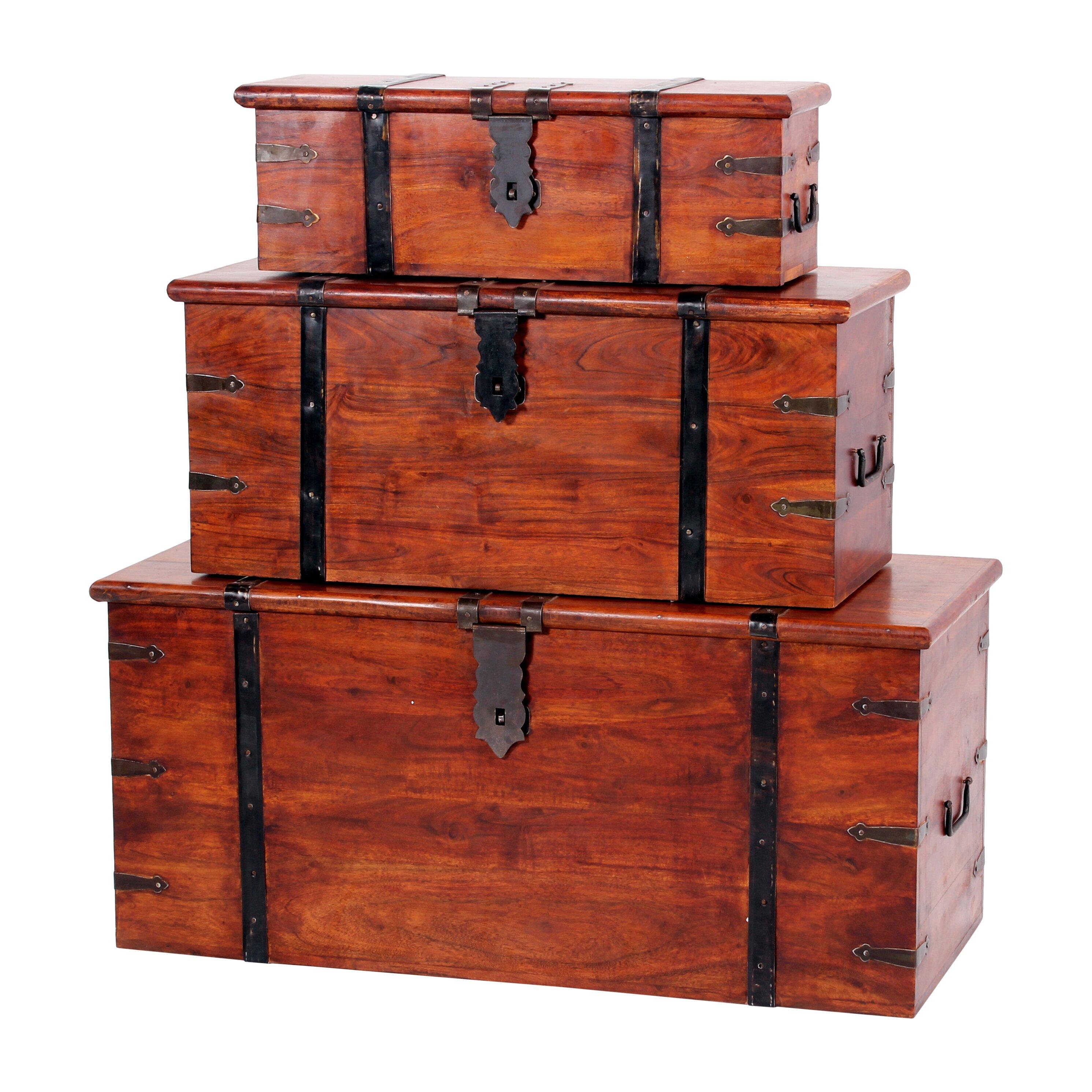 Heartlands jaipur piece trunk set reviews wayfair uk