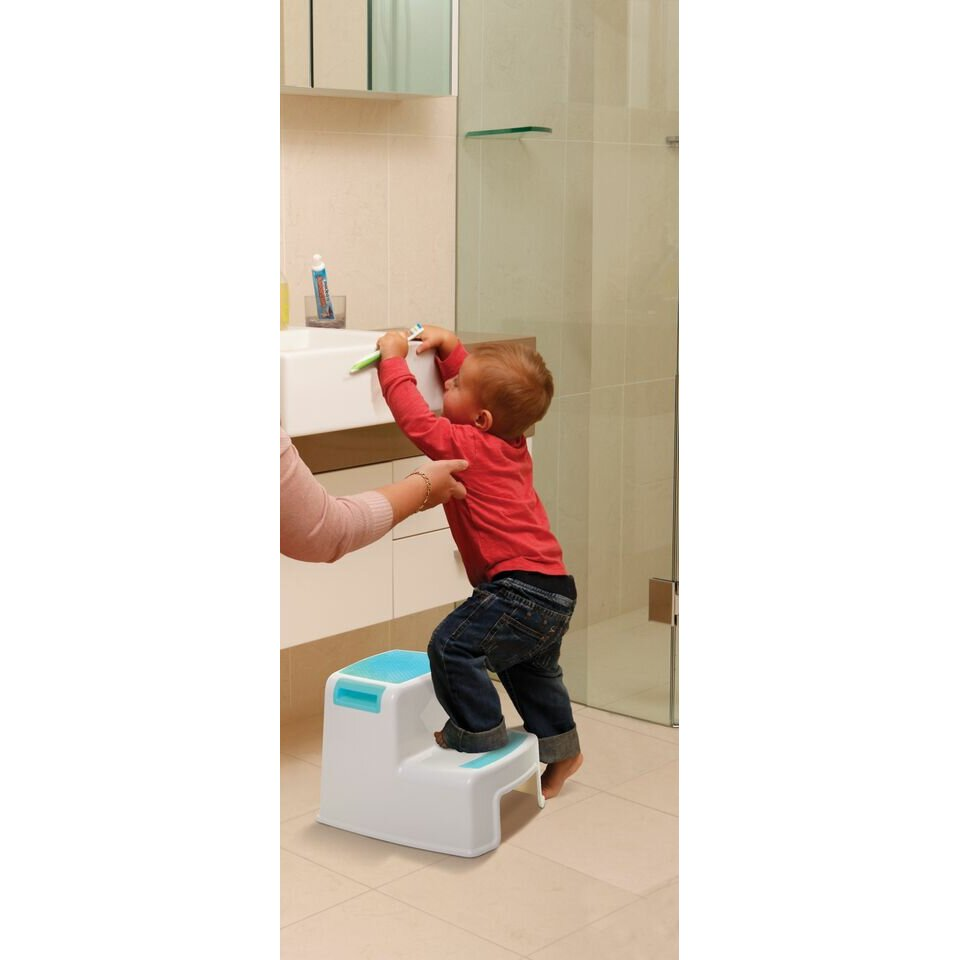 Dreambaby 2 Step Plastic Step Stool With 200 Lb Load