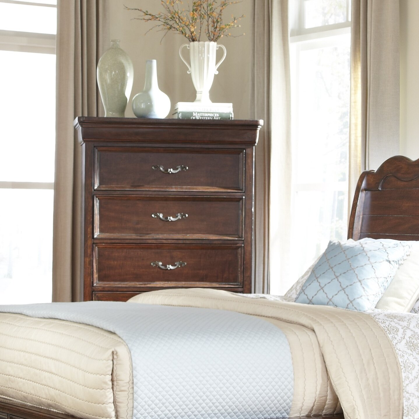 American woodcrafters signature panel customizable bedroom for American woodcrafters bedroom furniture