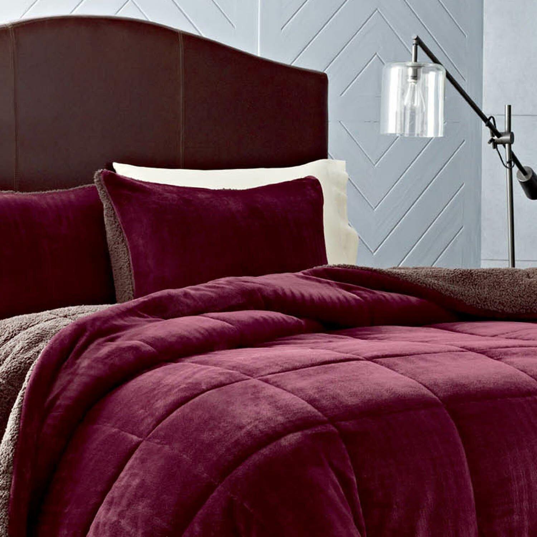 Eddie Bauer Premium Fleece Reversible Comforter Set