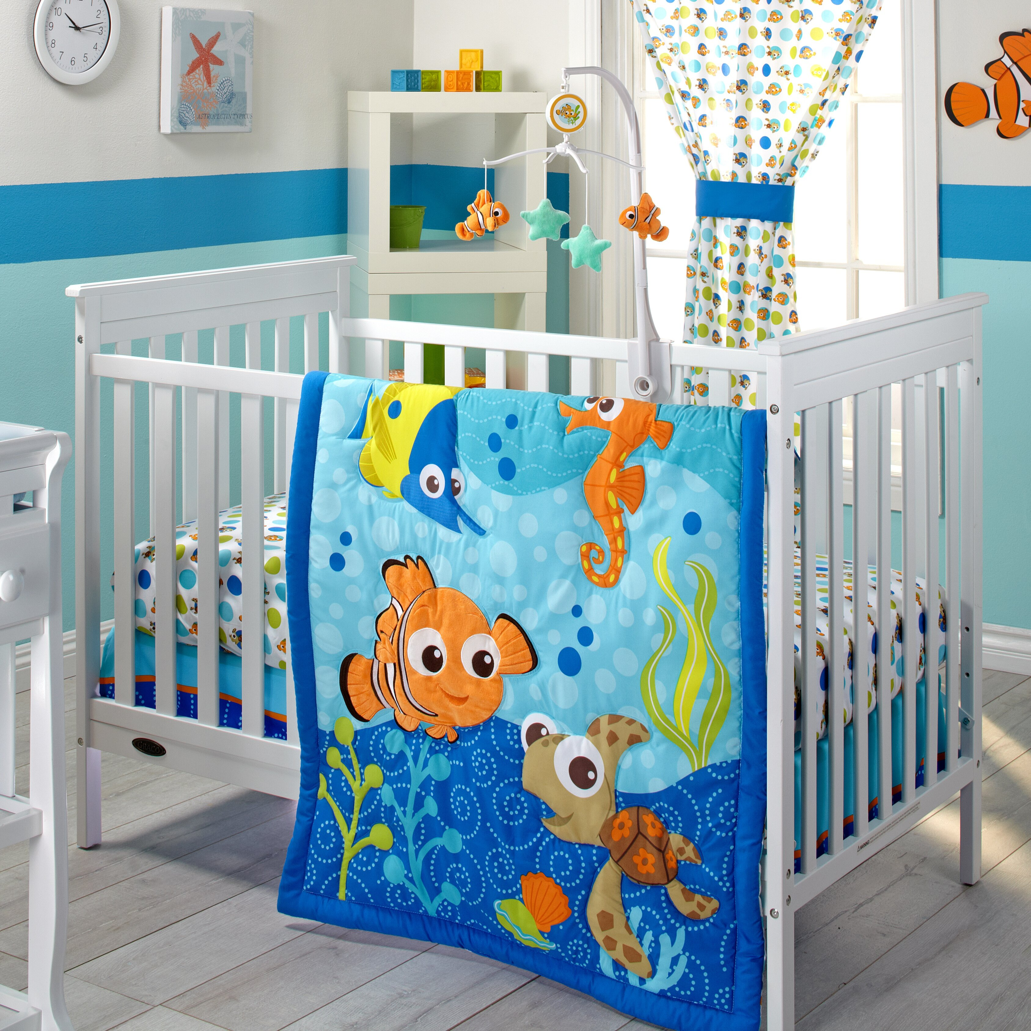 Nemo Crib Bedding Toys R Us