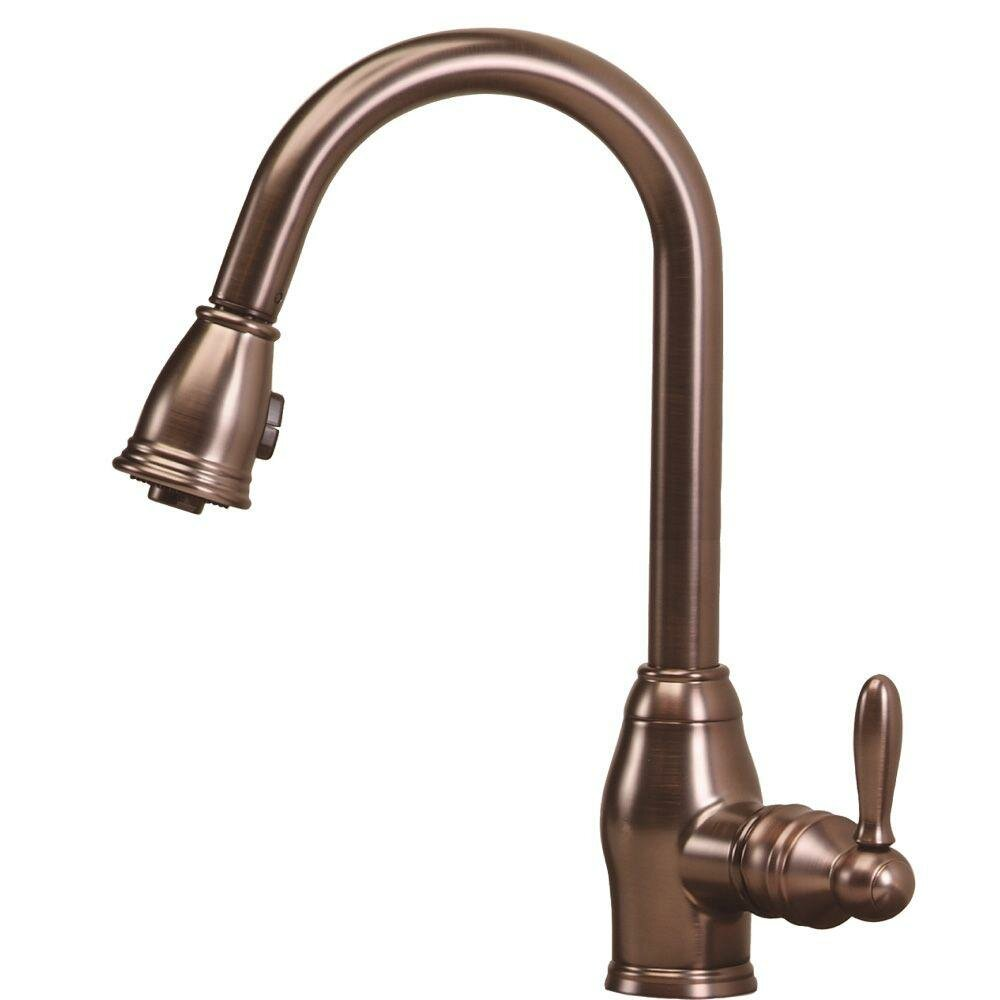 pegasus newbury one handle single hole pull out spray kitchen faucet reviews wayfair. Black Bedroom Furniture Sets. Home Design Ideas