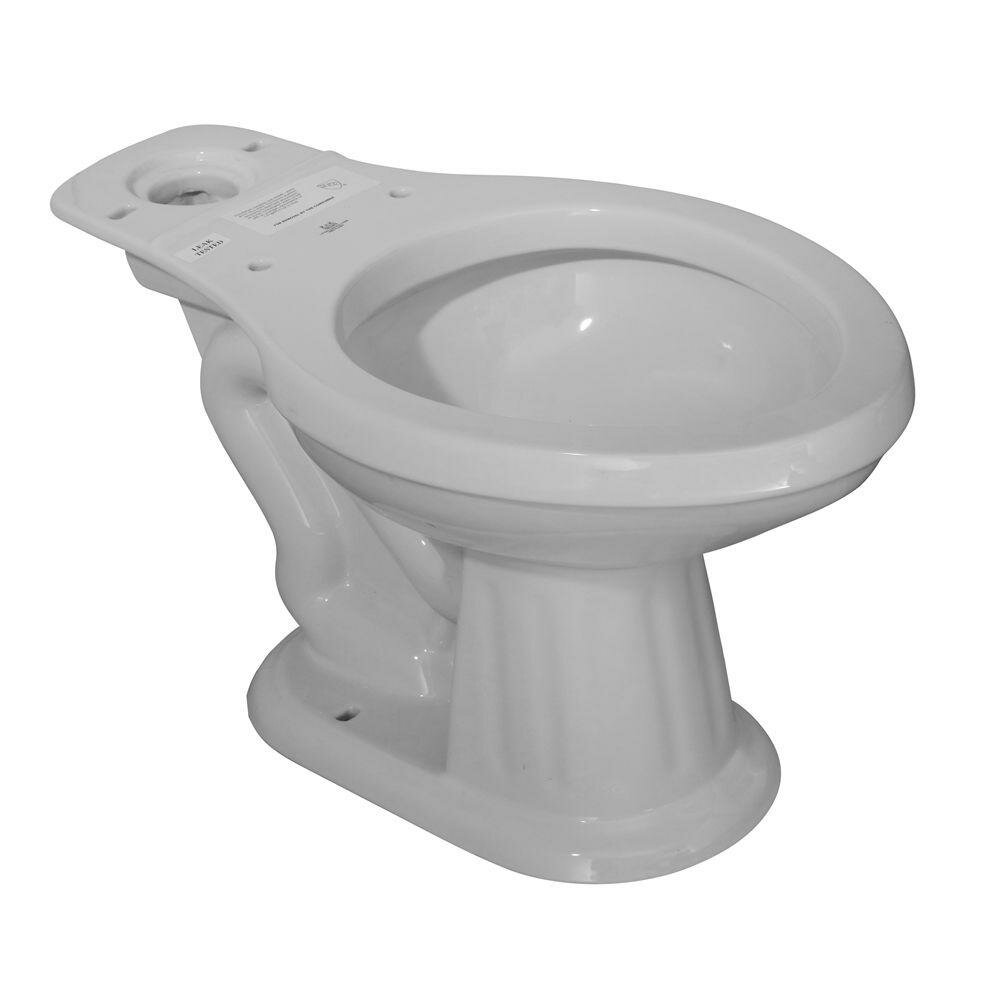 Elizabethan Classics Aberdeen Dual Flush Elongated Toilet ...