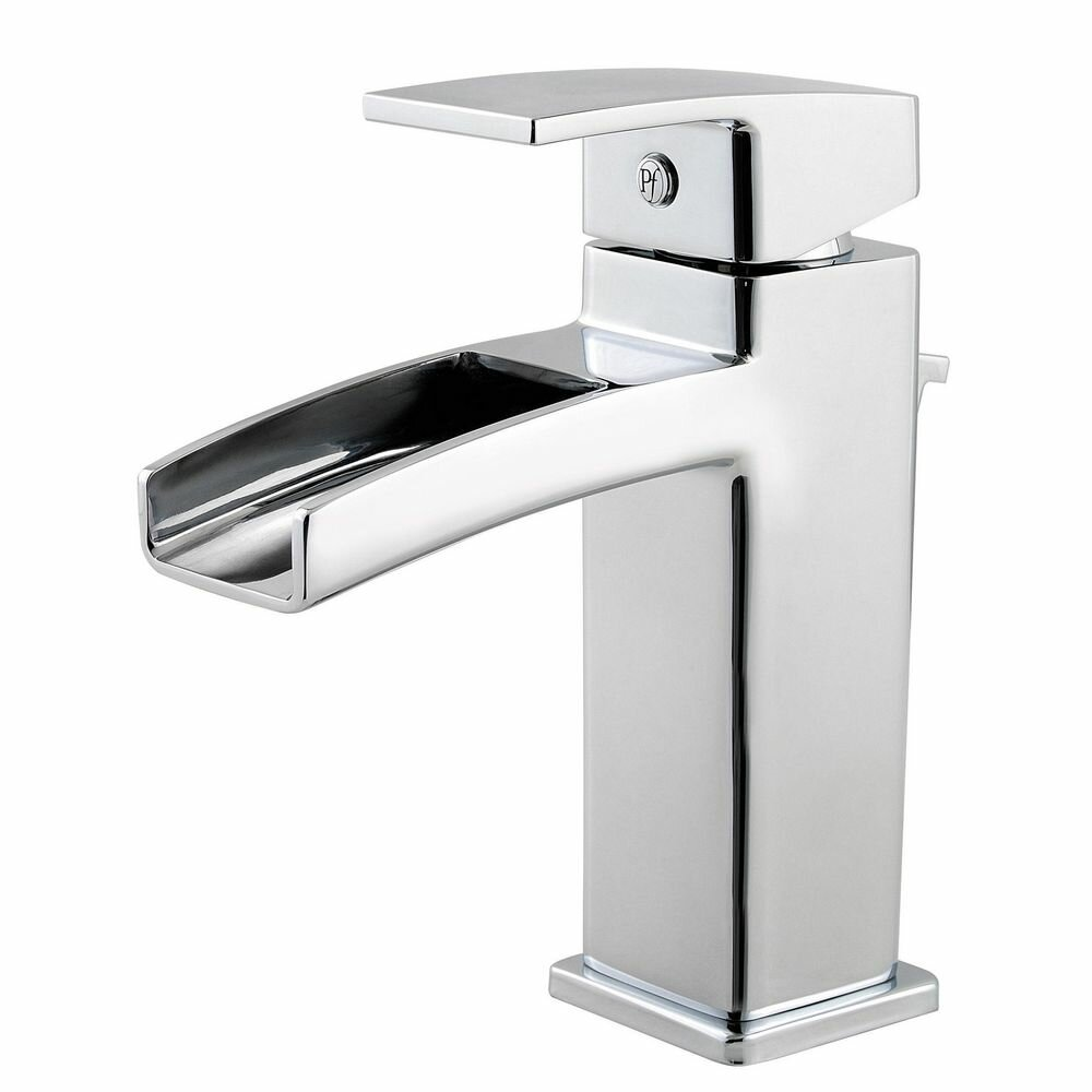 Pfister Kenzo Single Handle Single Hole Waterfall Faucet Reviews Wayfair